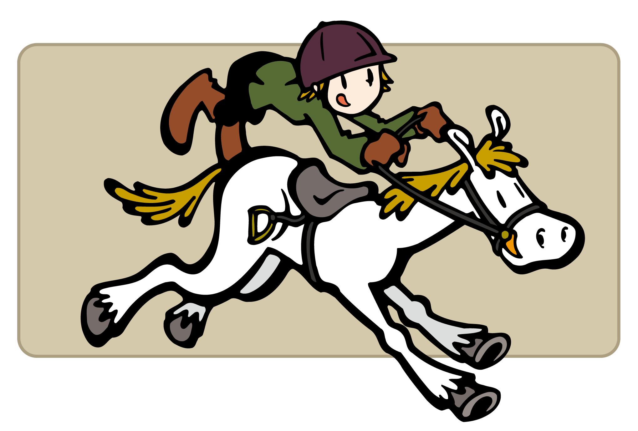 2002年賀状09:Jockeyのダウンロード画像