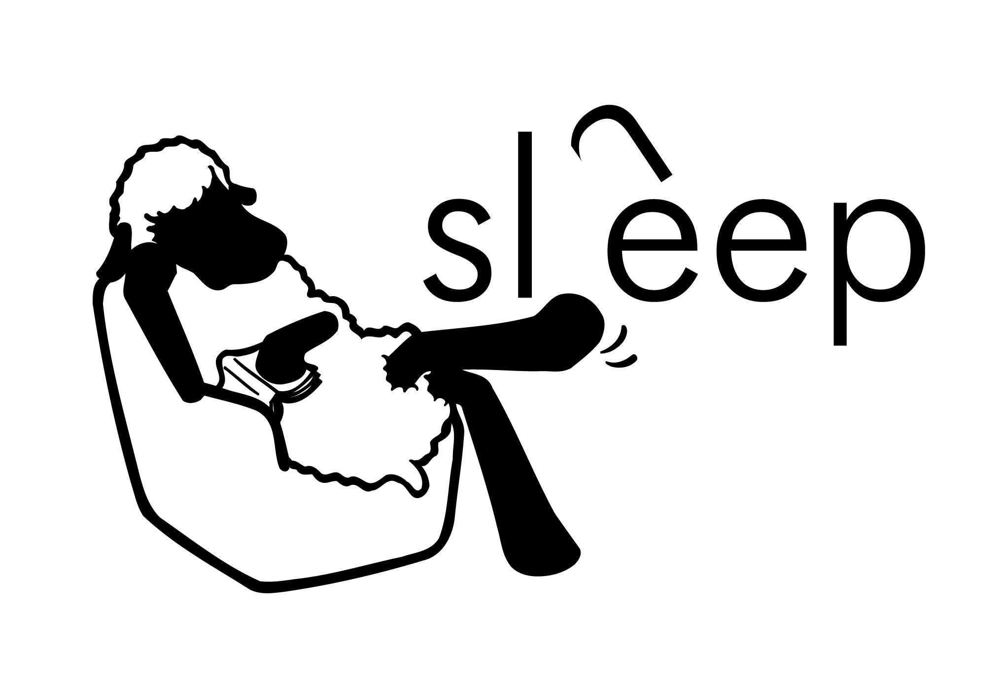 2003年賀状13:Sheep, Sleepのダウンロード画像