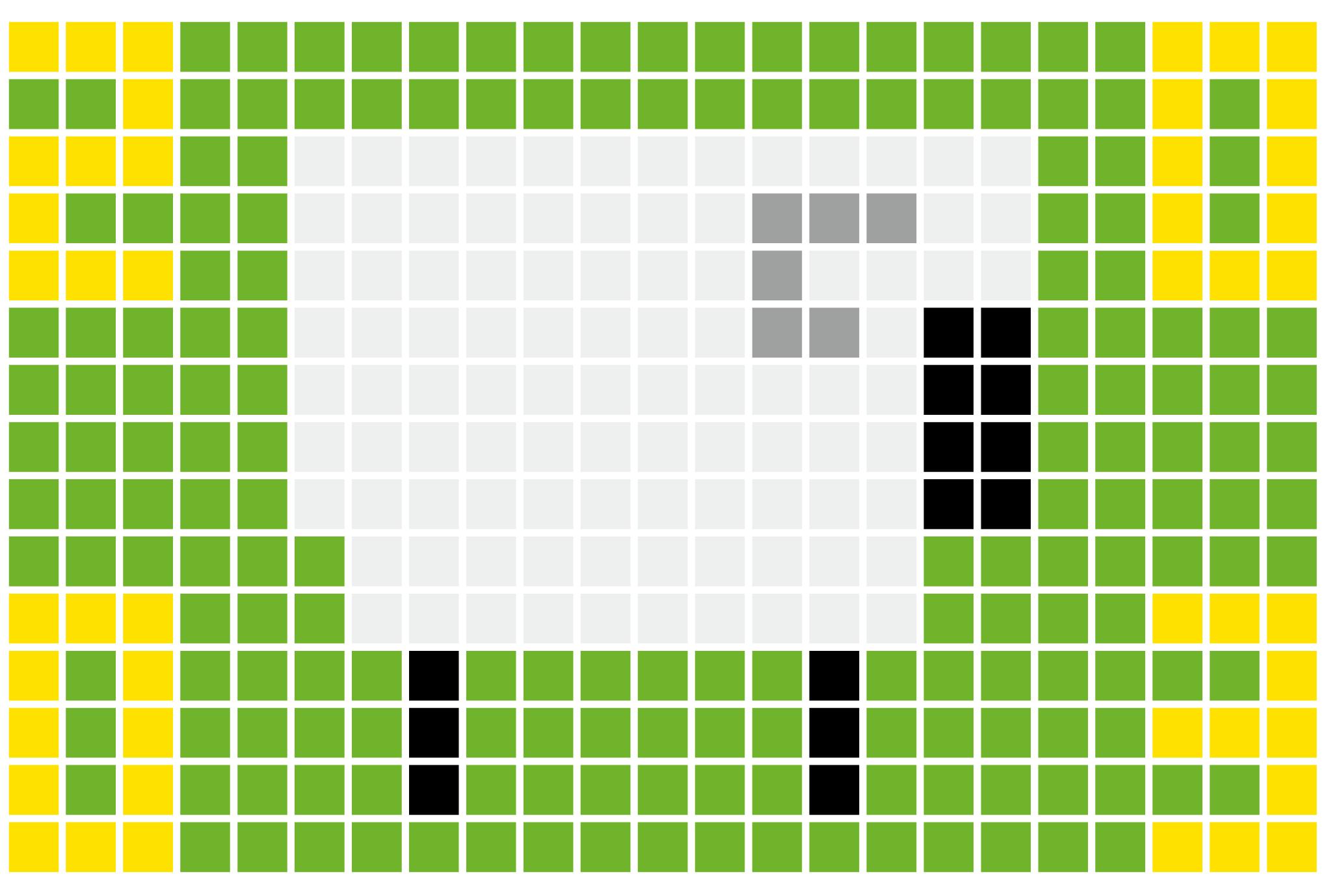 2003年賀状17:Sheep grid 2003のダウンロード画像