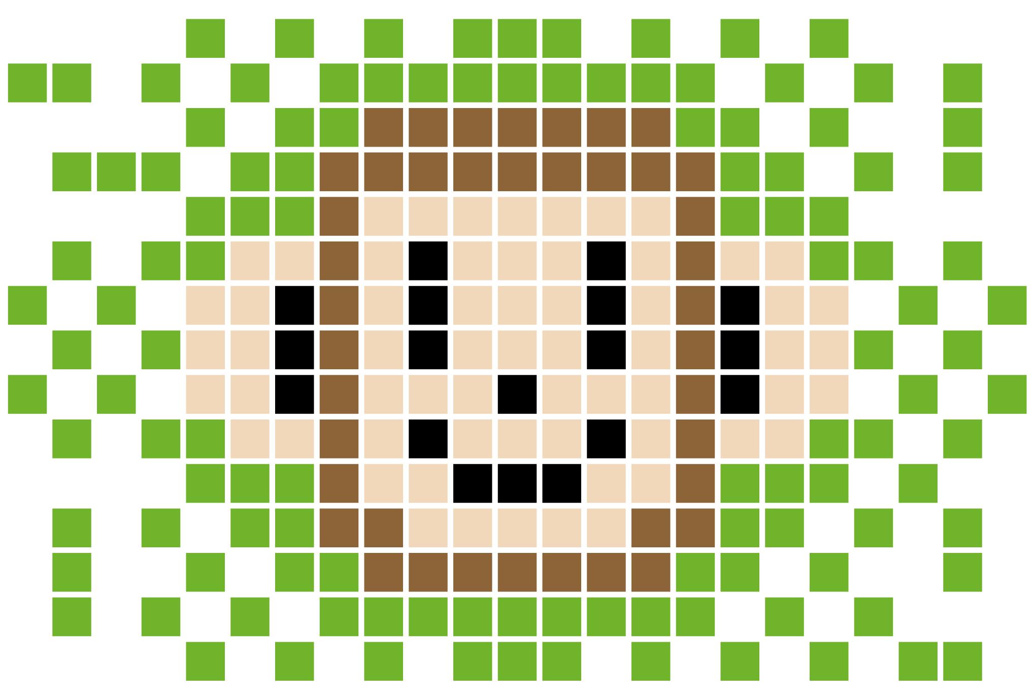 2004年賀状20:Monkey grid 2004のダウンロード画像