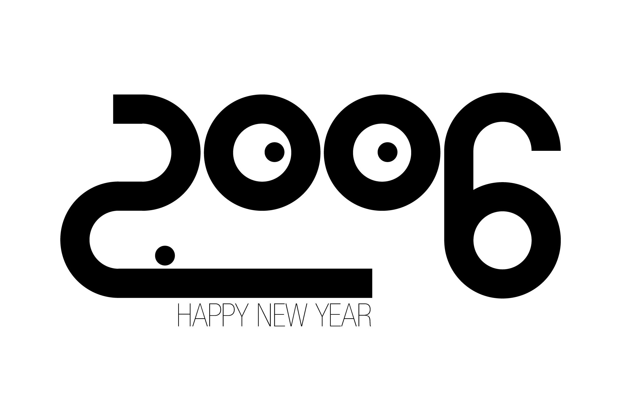 2006年賀状10:2006 FACEのダウンロード画像