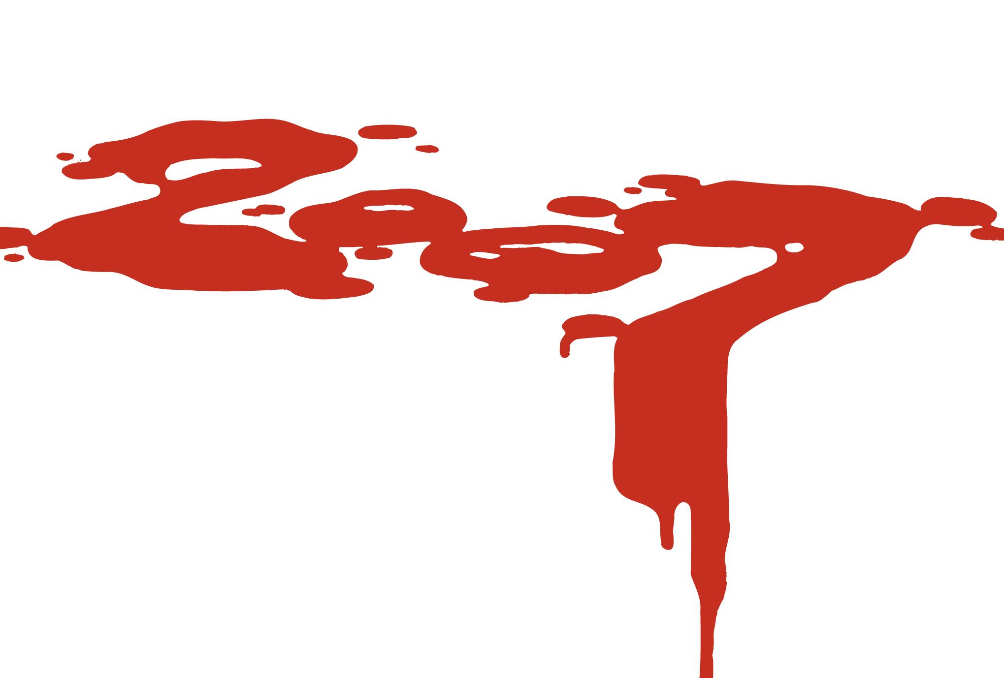 2007年賀状07:Bloody 2007のダウンロード画像