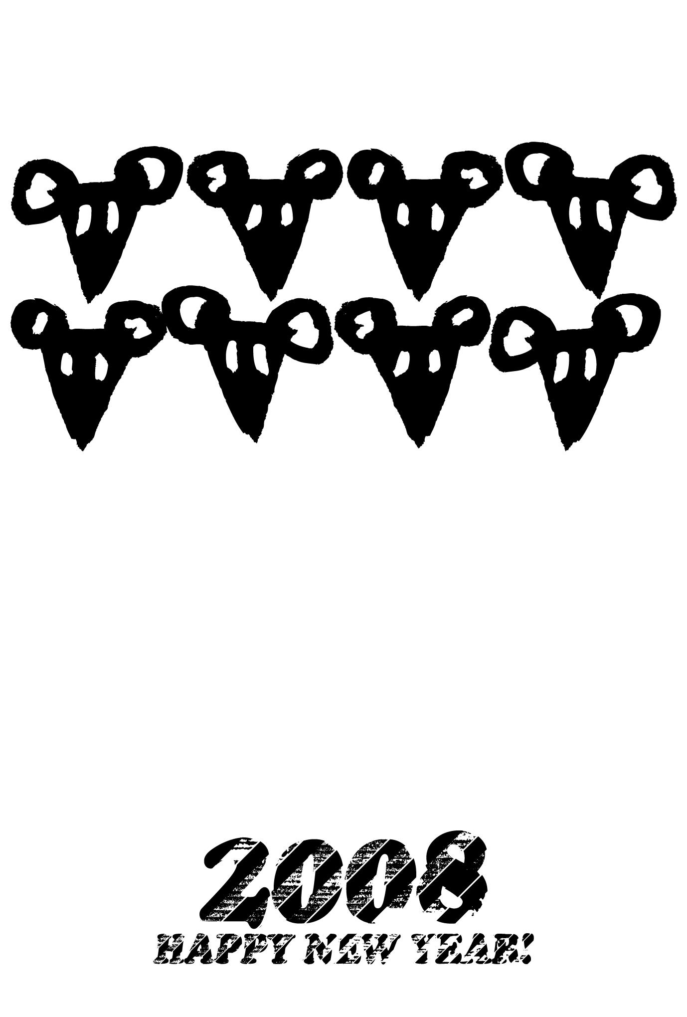 2008年賀状30:8 Mouseのダウンロード画像
