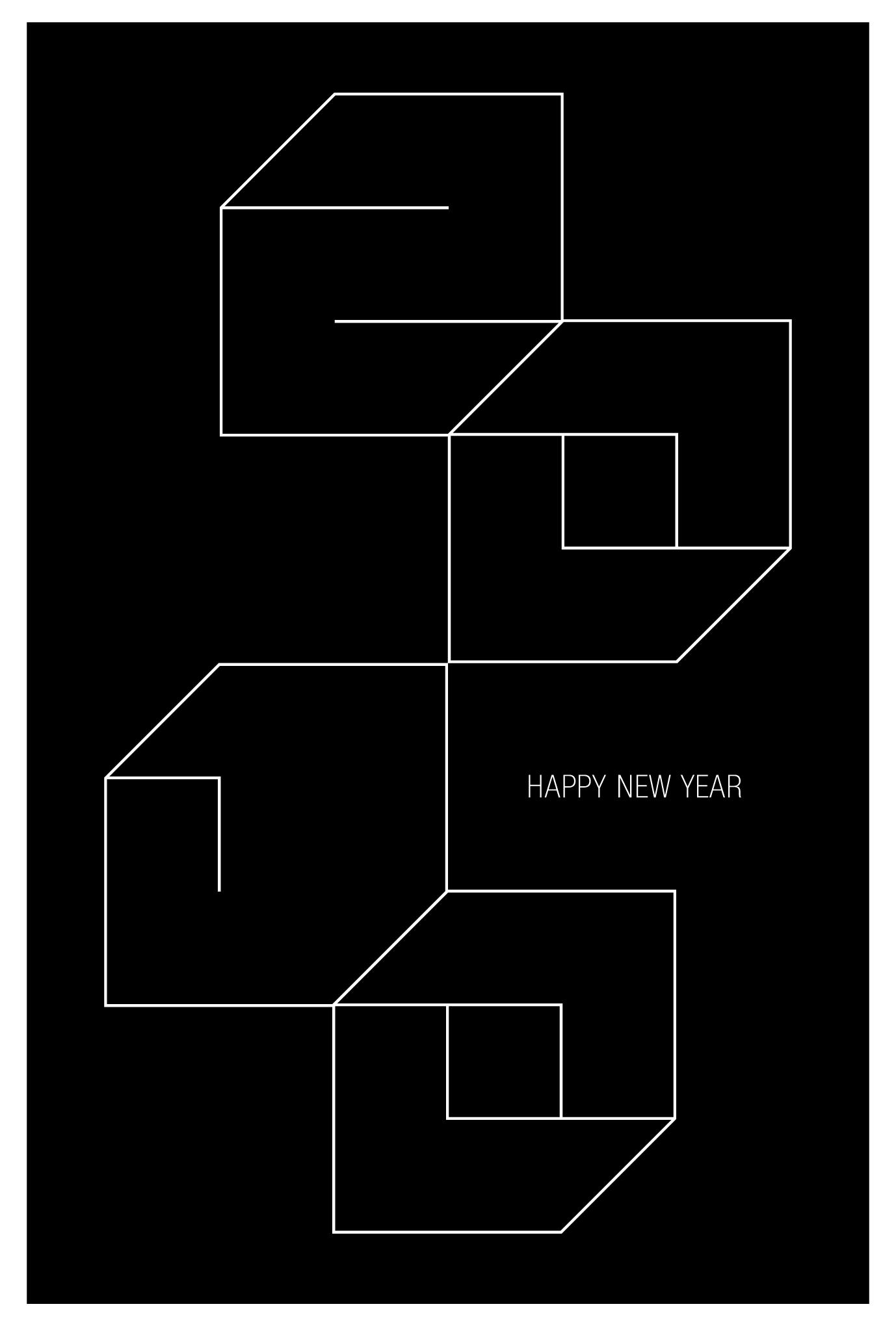2010年賀状11:Square 2010 / 1のダウンロード画像