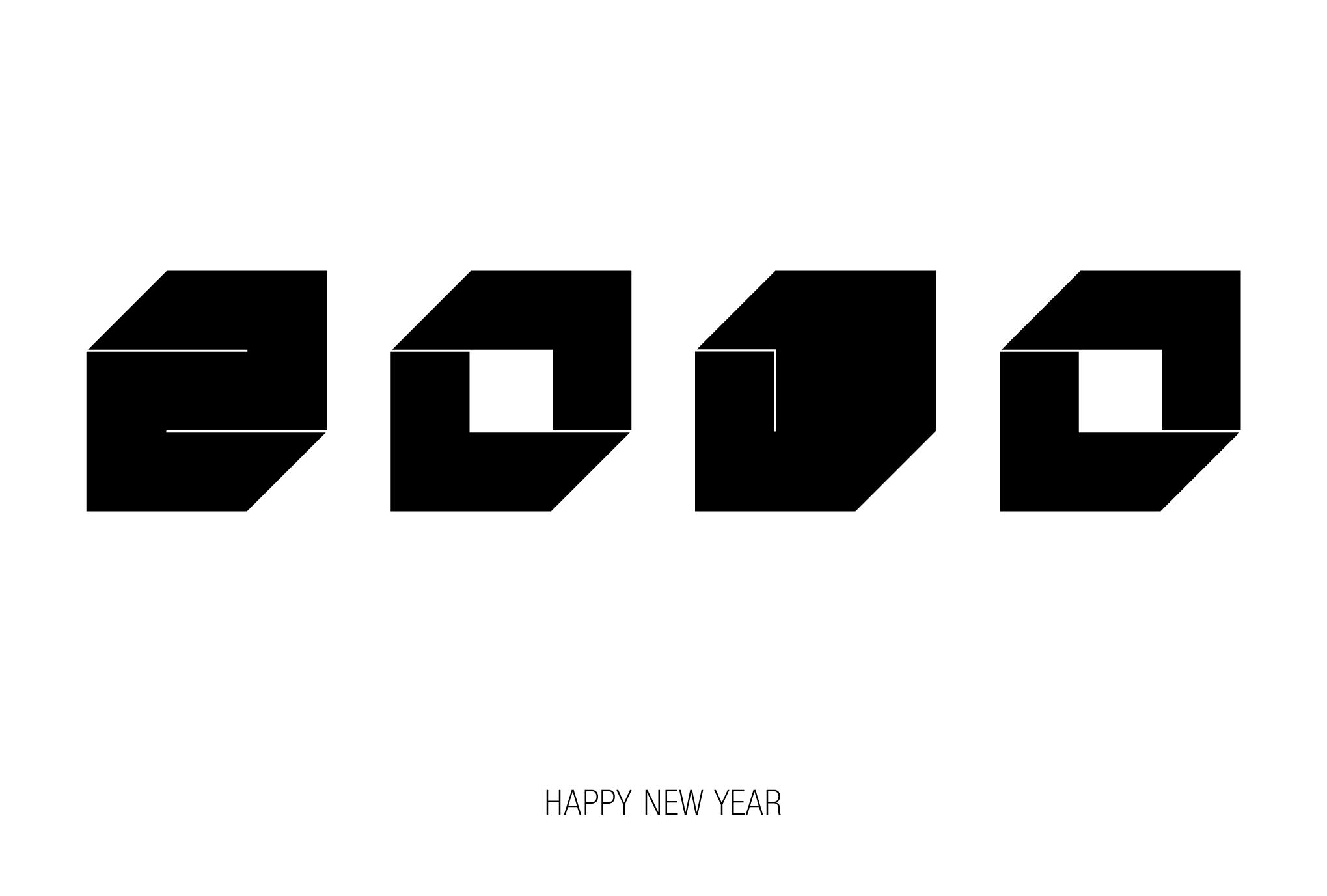 2010年賀状12:Square 2010 / 2のダウンロード画像