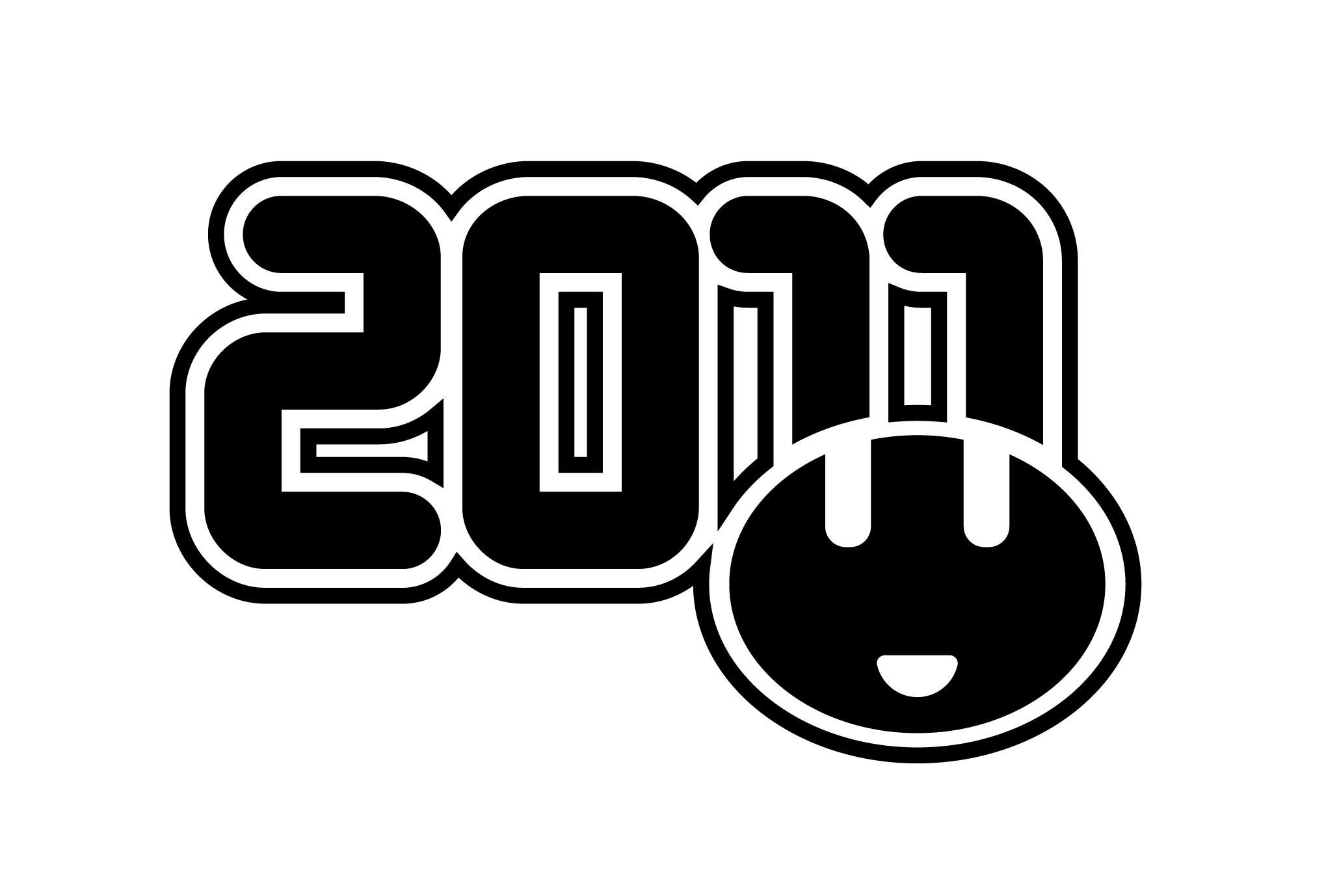 2011年賀状13:うさみみのダウンロード画像