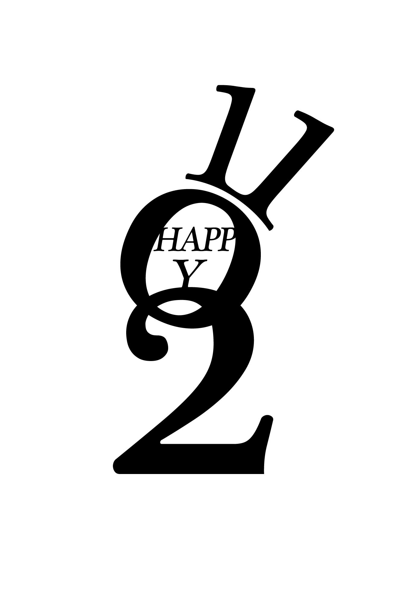 2011年賀状14:Happy Bunnyのダウンロード画像