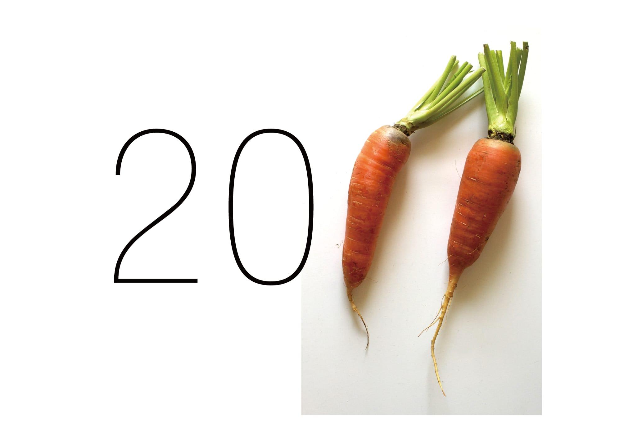 2011年賀状23:Carrot 2011のダウンロード画像
