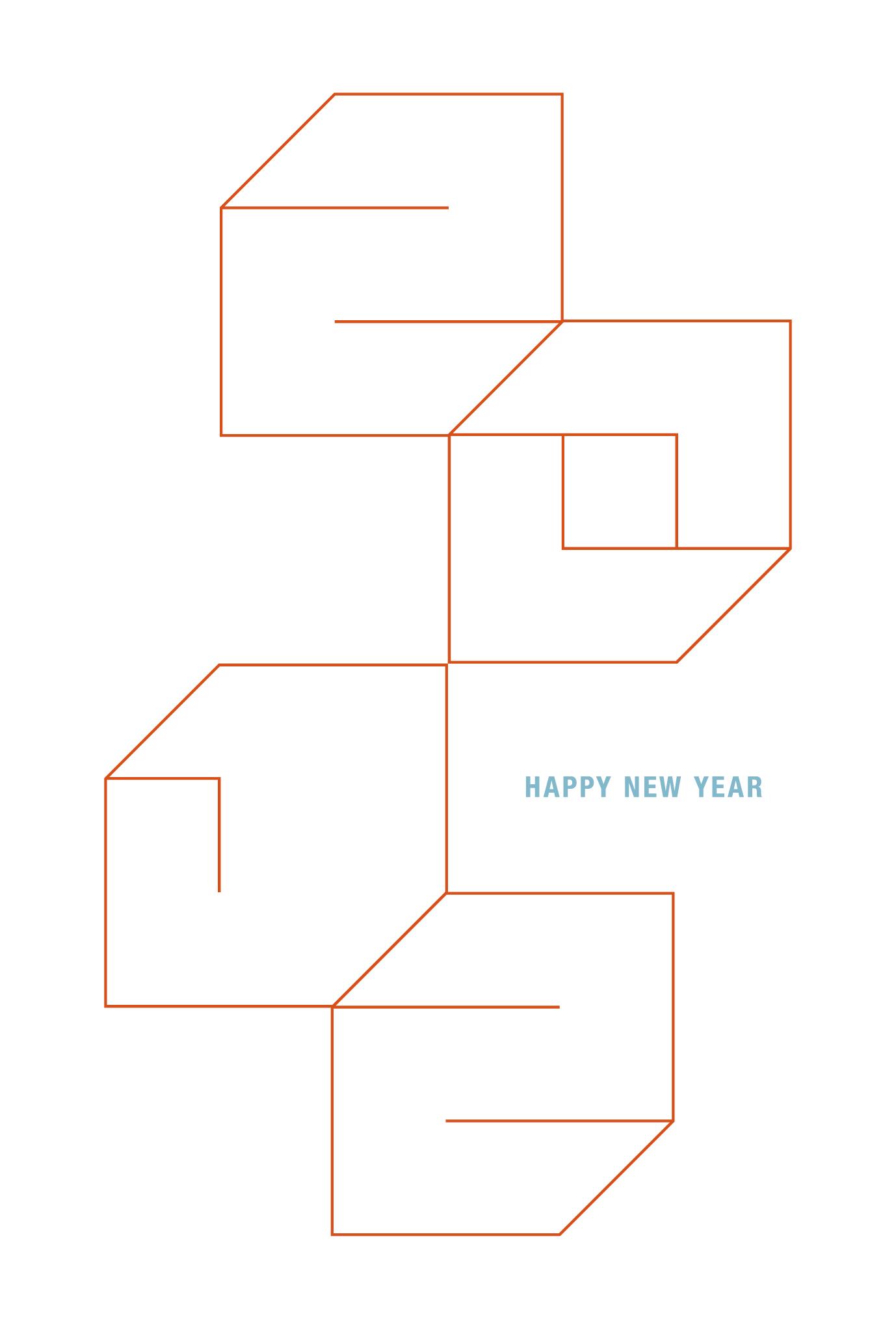2012年賀状07:Square 2012 / 1のダウンロード画像