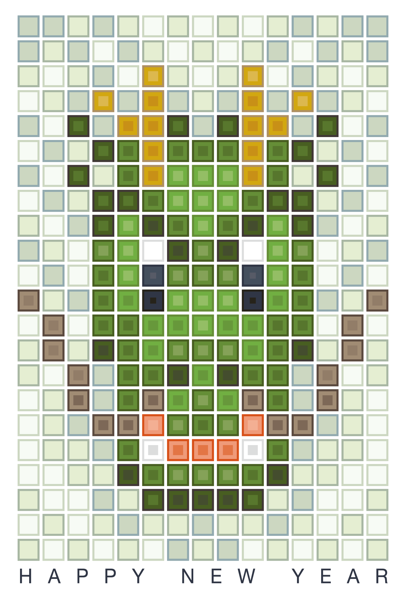 2012年賀状27:Dragon gridのダウンロード画像