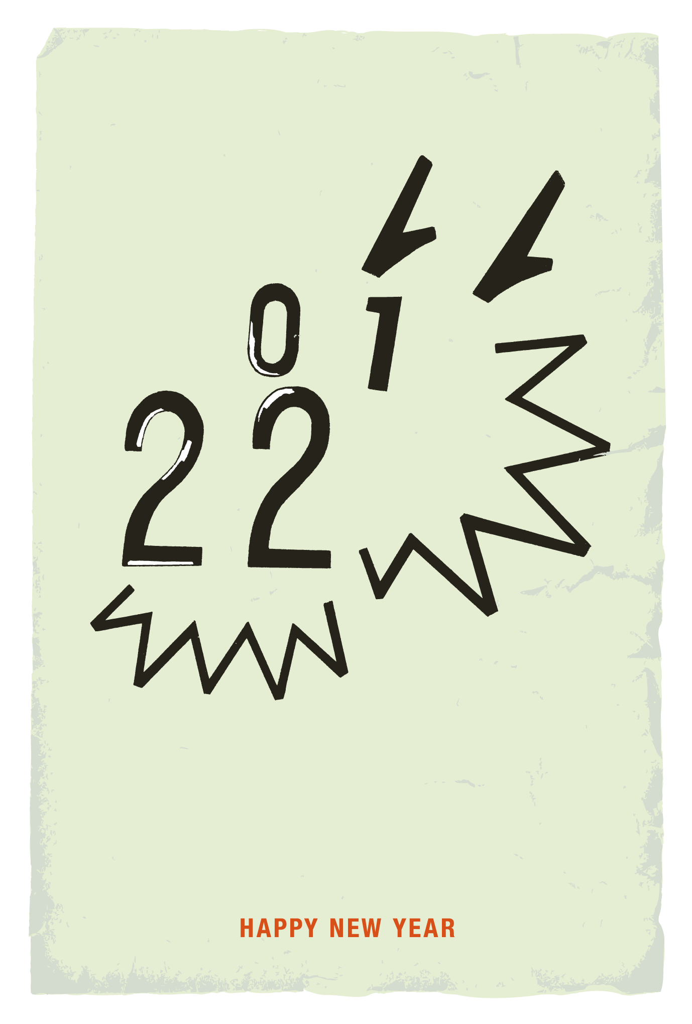 2012年賀状31:Dragon face 2012のダウンロード画像