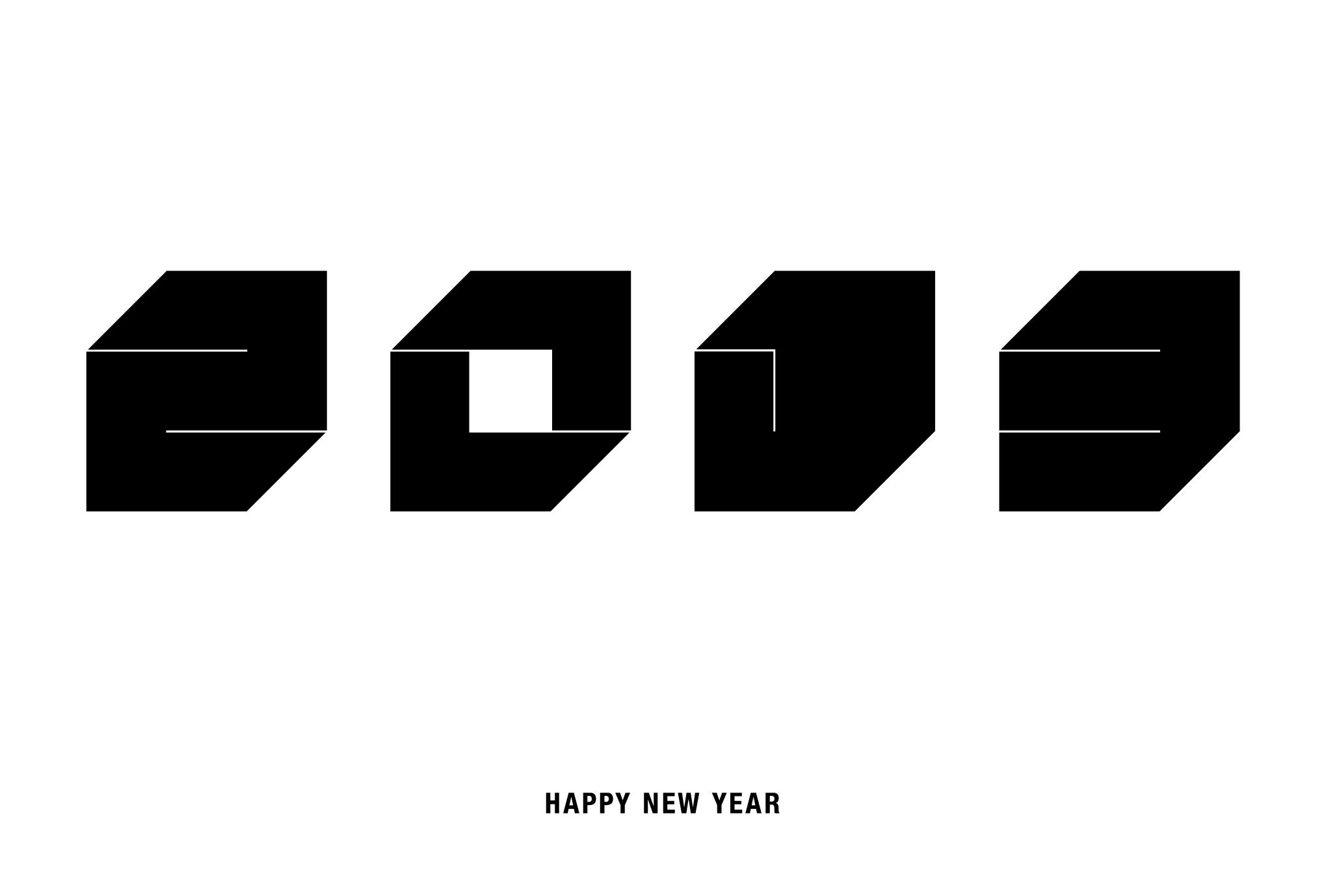 2013年賀状06-2:Square 2013 / 2のダウンロード画像