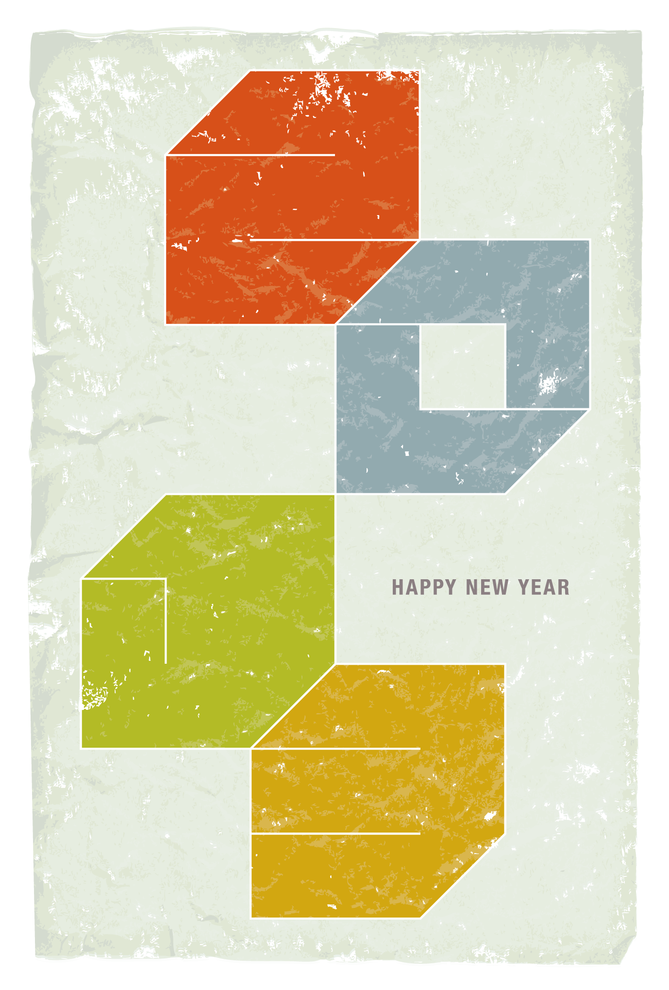 2013年賀状07-1:Square 2013 / 3のダウンロード画像