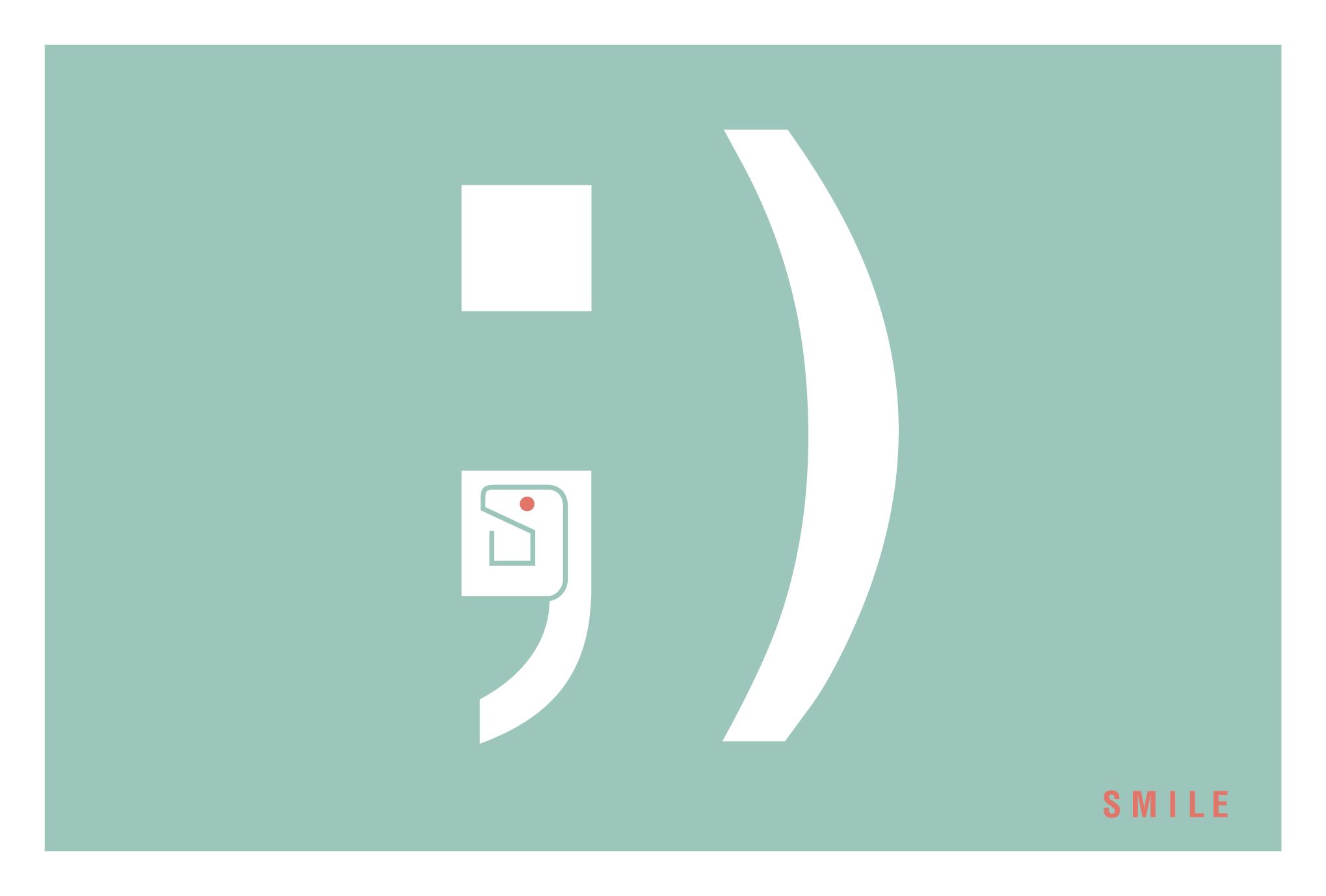 2013年賀状17-1:SMILE ; ) / 1のダウンロード画像