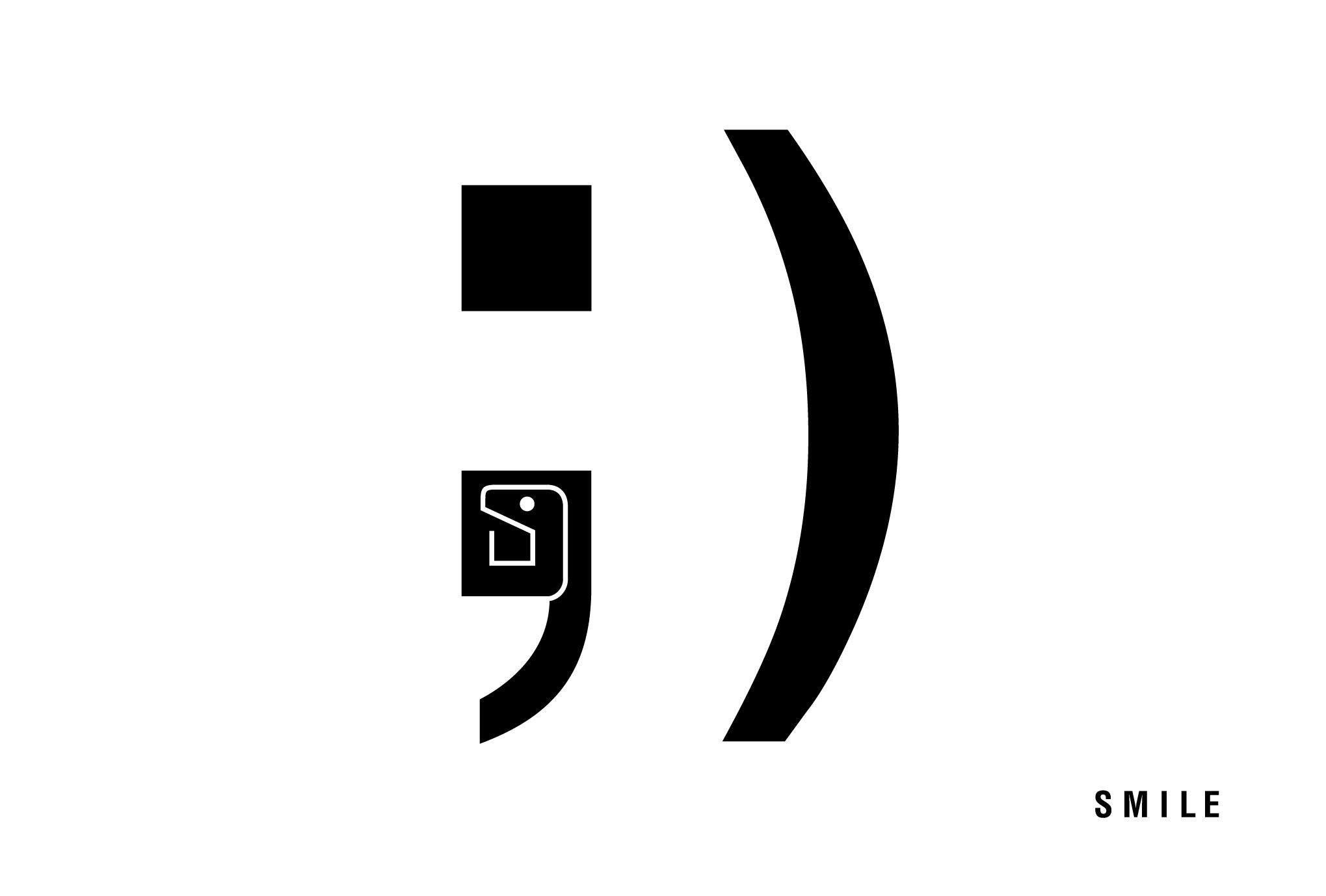 2013年賀状17-2:SMILE ; ) / 2のダウンロード画像