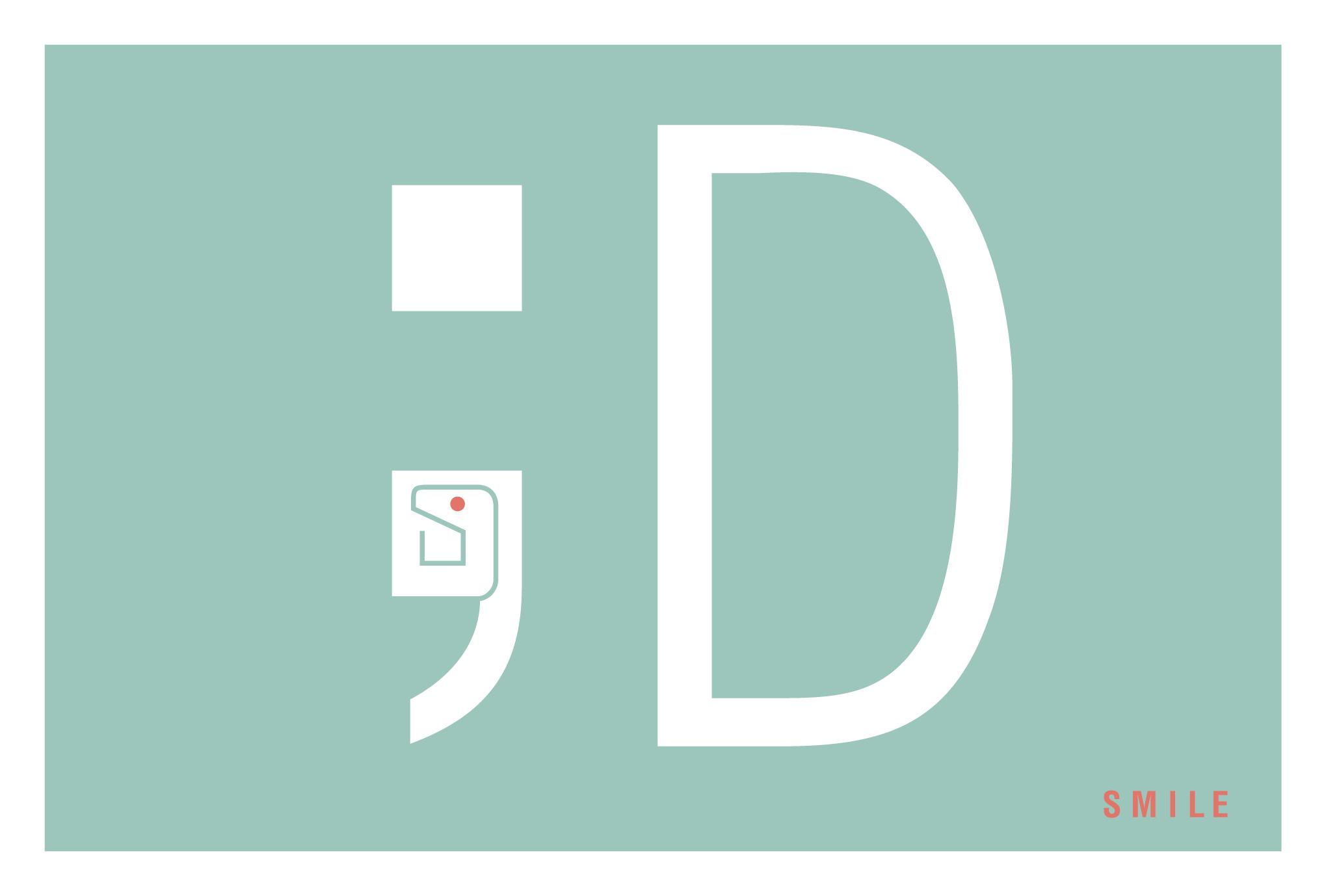 2013年賀状17-3:SMILE ;D / 3のダウンロード画像