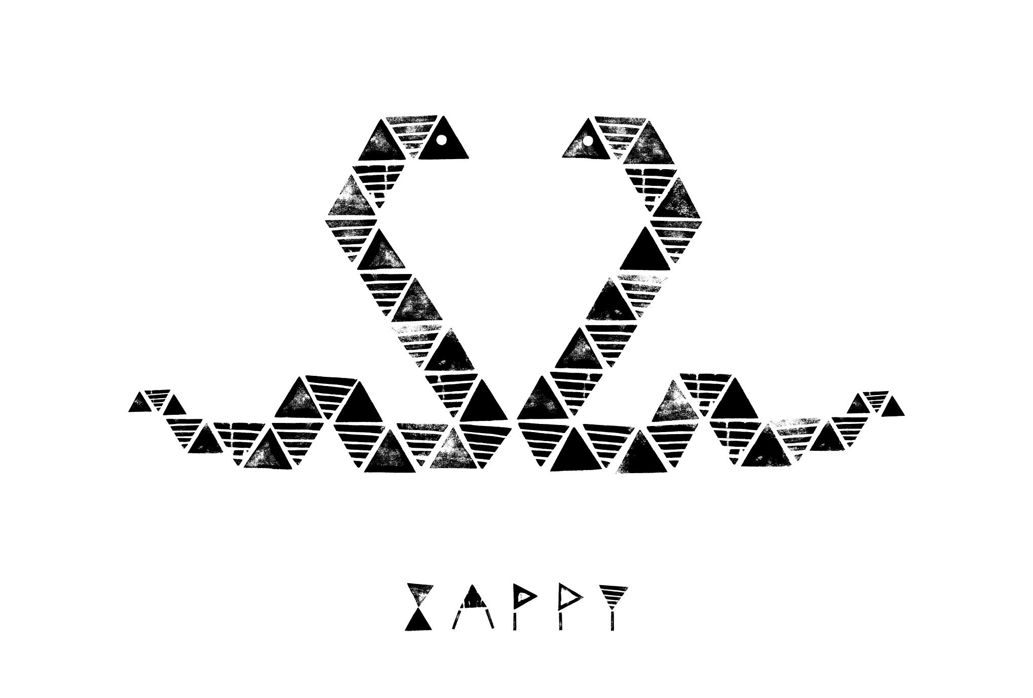 2013年賀状28-3:Snake heart / 3のダウンロード画像