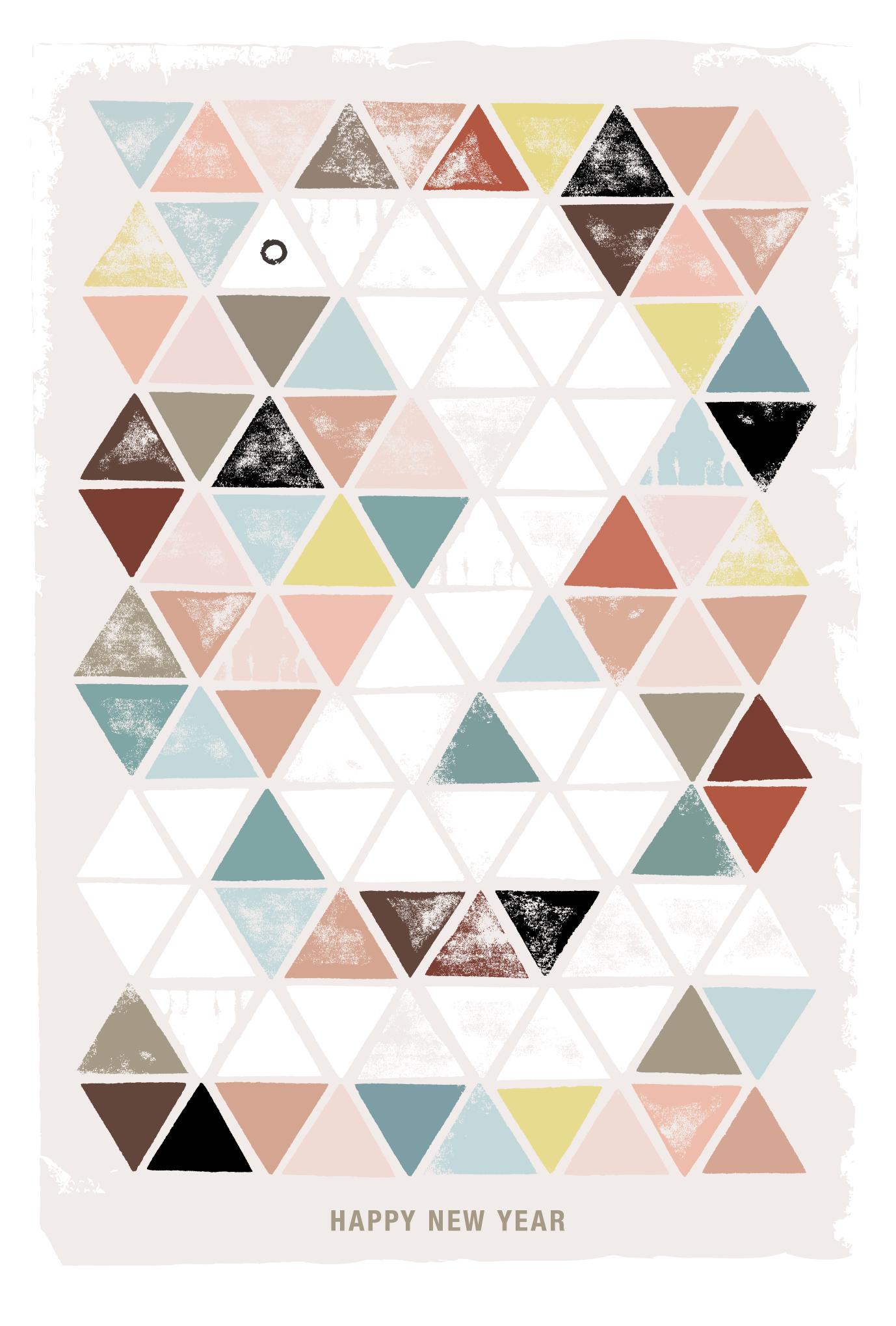 2013年賀状31-1:Triangle Cobra / 1のダウンロード画像