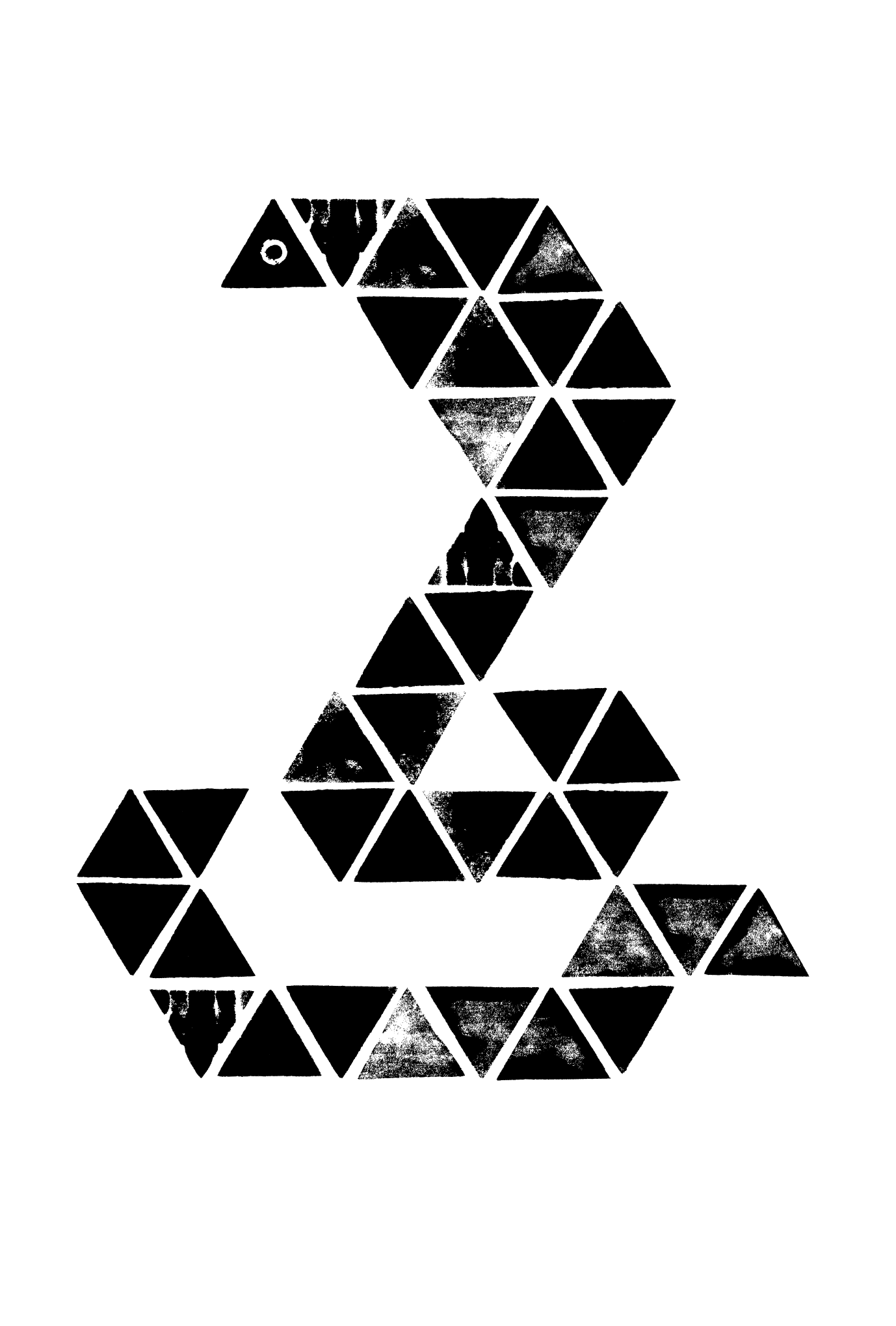 2013年賀状31-2:Triangle Cobra / 2のダウンロード画像