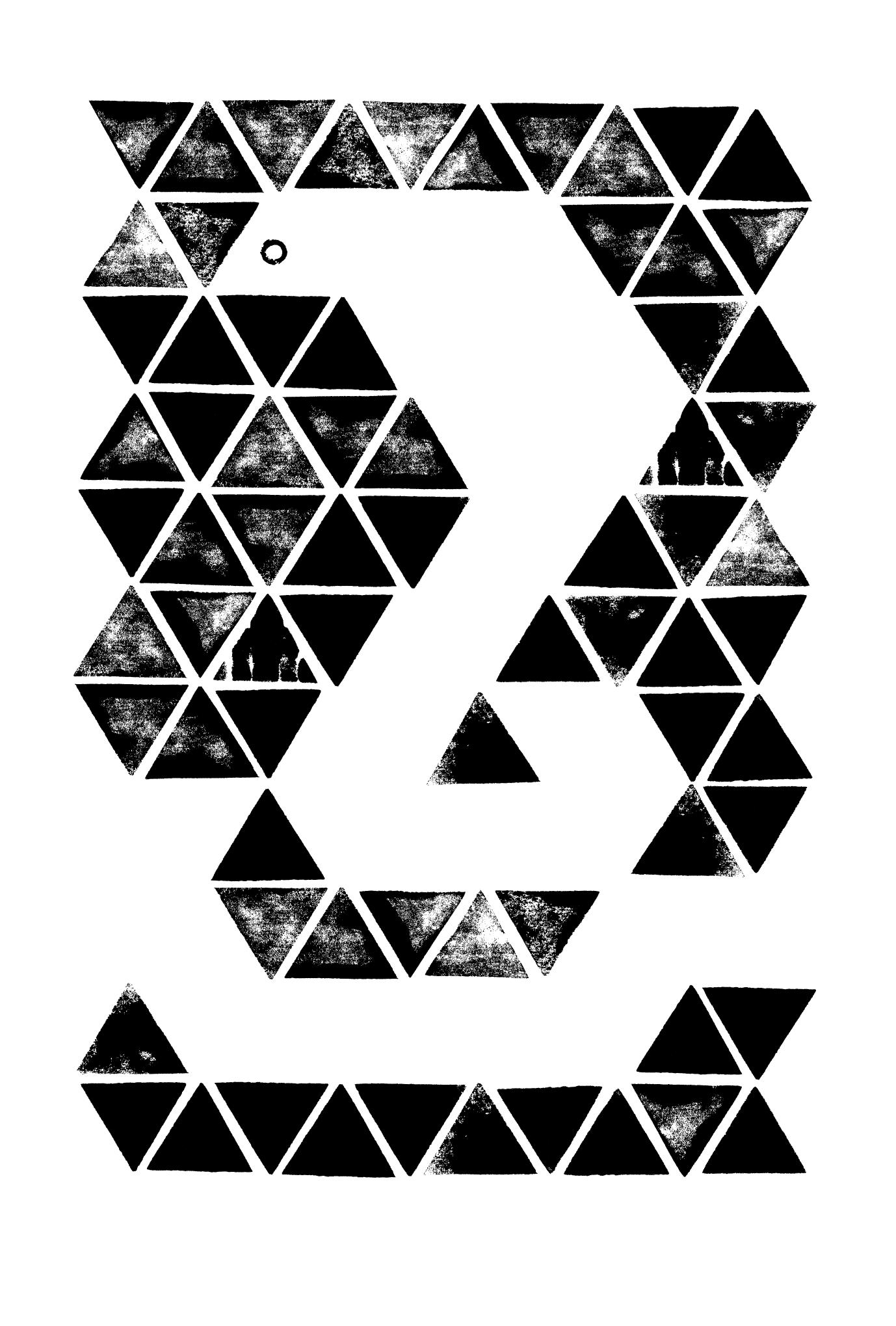 2013年賀状31-3:Triangle Cobra / 3のダウンロード画像