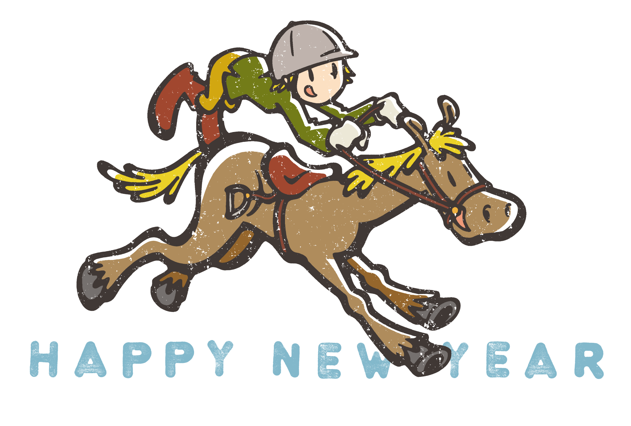 2014年賀状10-1:Jockey / modify 1のダウンロード画像