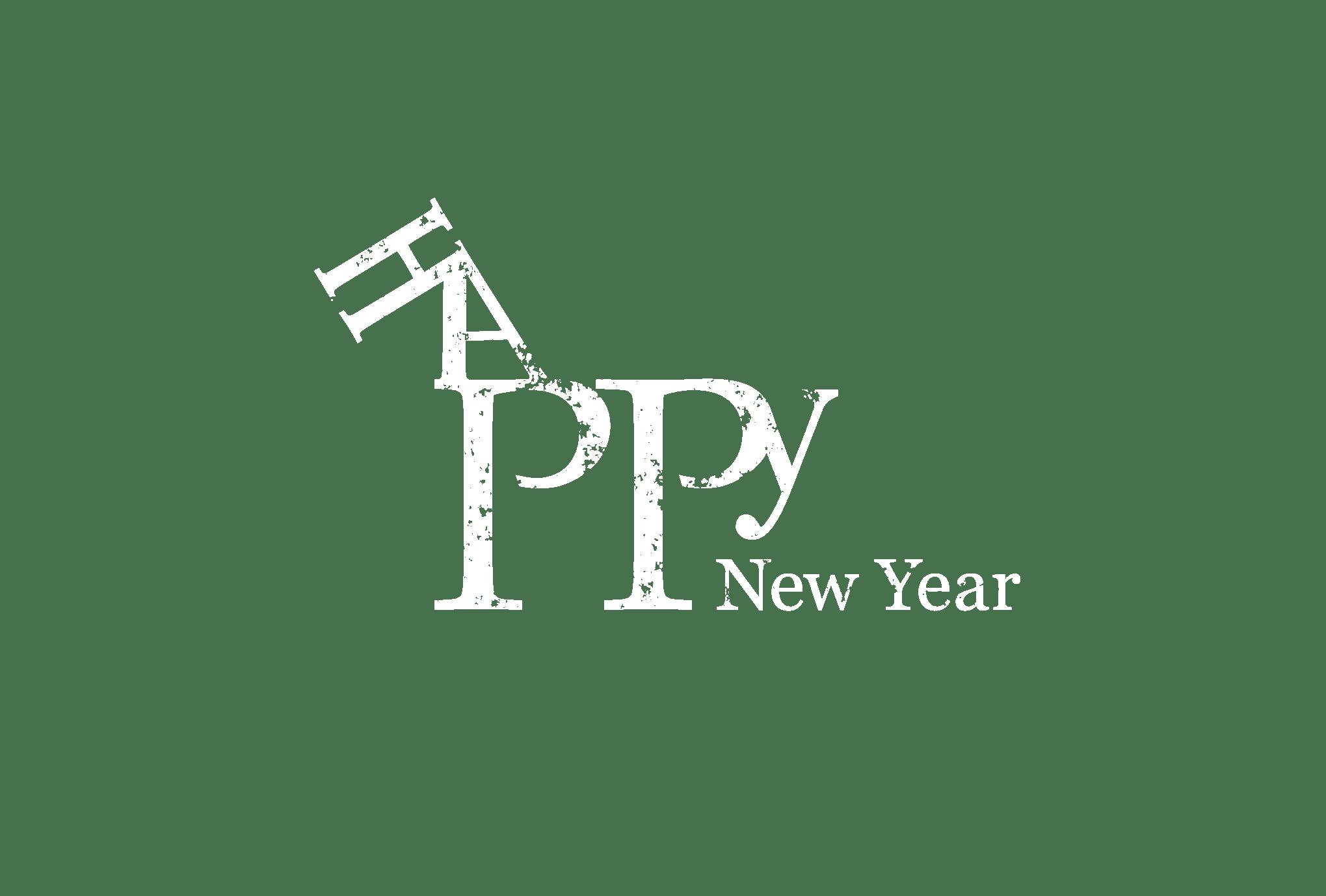 2014年賀状19-2:HAPPY HORSE(透過)のダウンロード画像