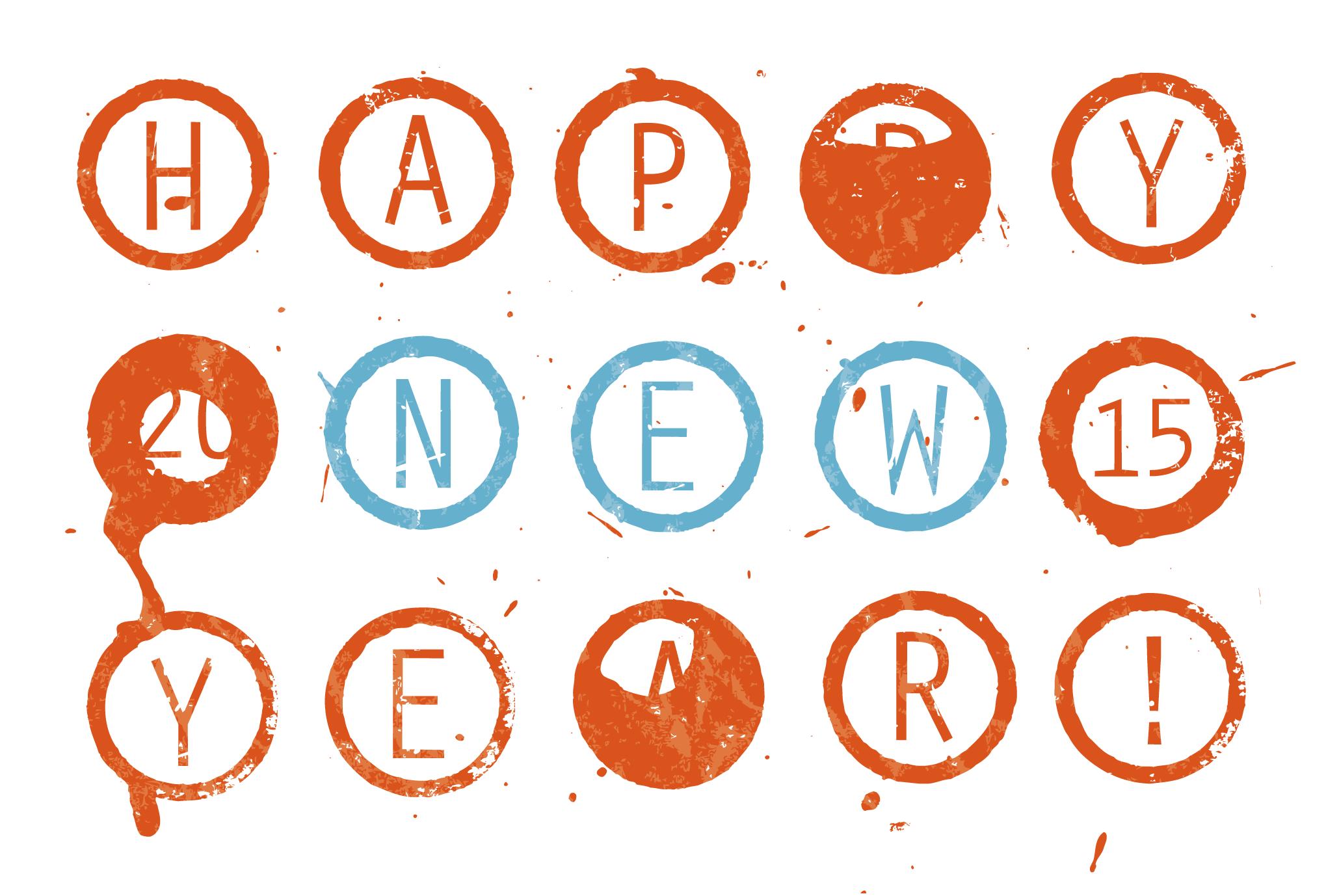 2015年賀状03-2:Circle 2015 / 2のダウンロード画像