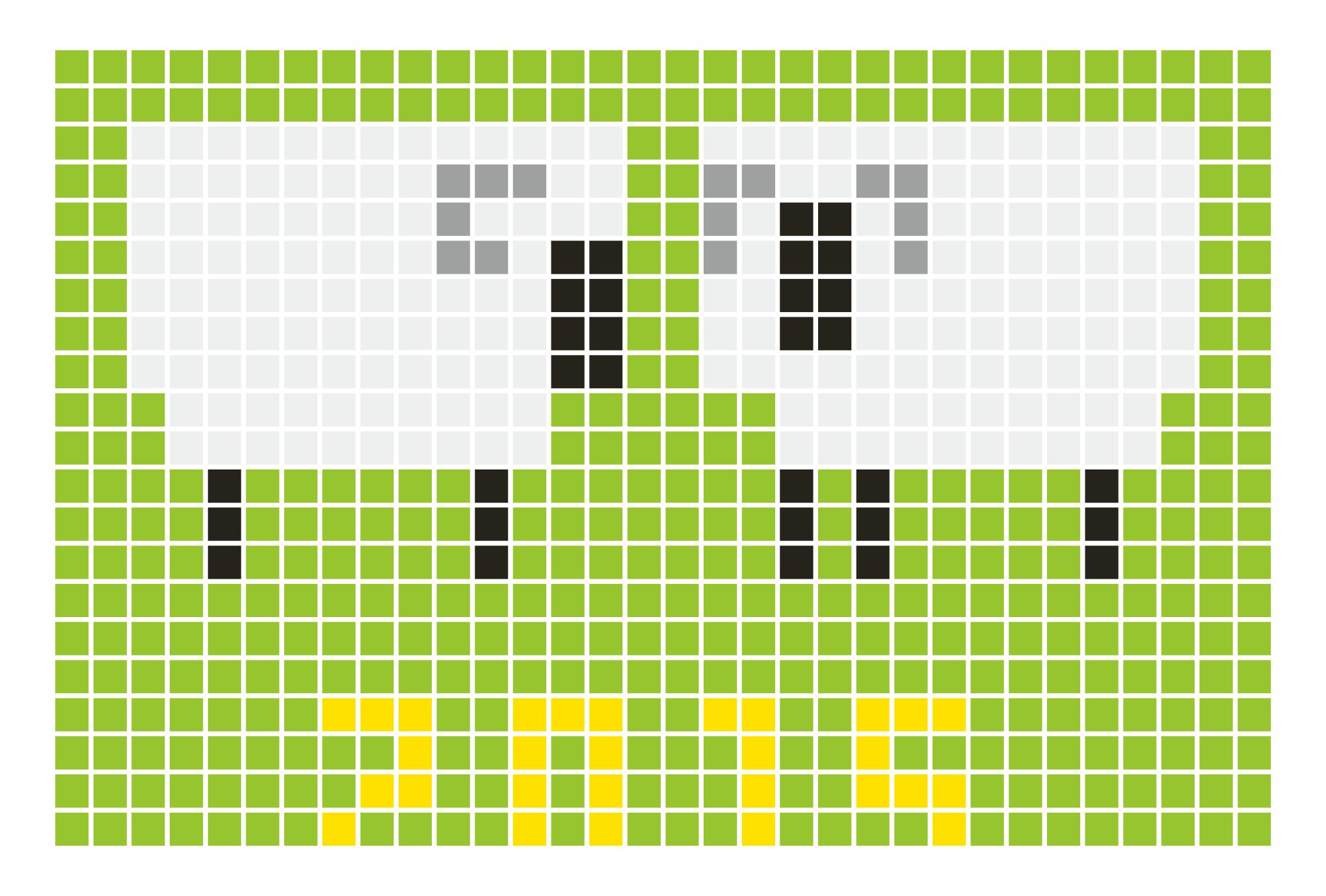 2015年賀状06-1:Sheep grid 2015 / 1のダウンロード画像
