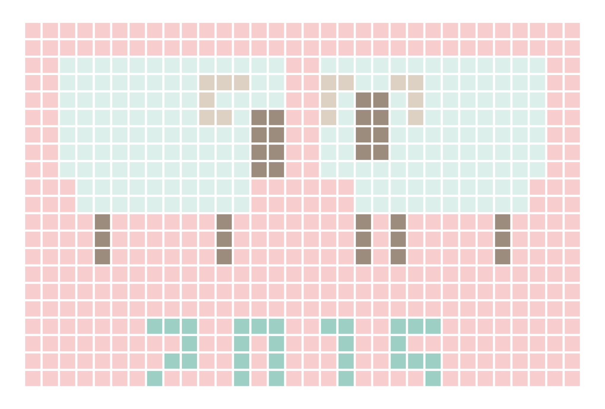 2015年賀状06-3:Sheep grid 2015 / 3のダウンロード画像