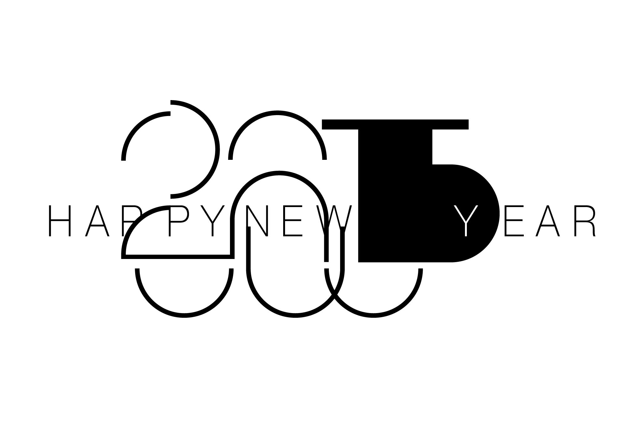 2015年賀状10-2:Sheep face 2015 / 2のダウンロード画像