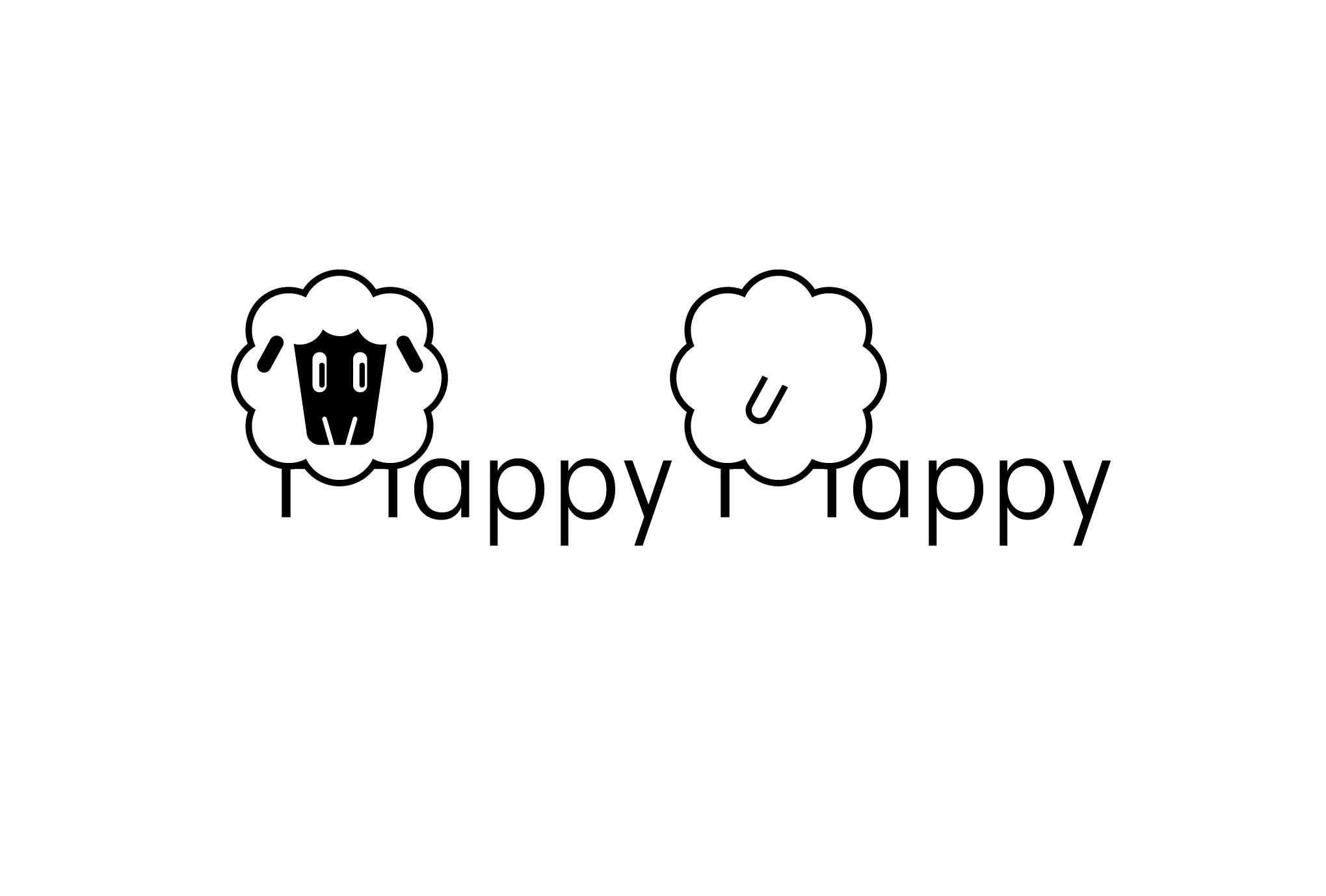 2015年賀状15-3:HAPPY HAPPY / TWO SHEEPのダウンロード画像