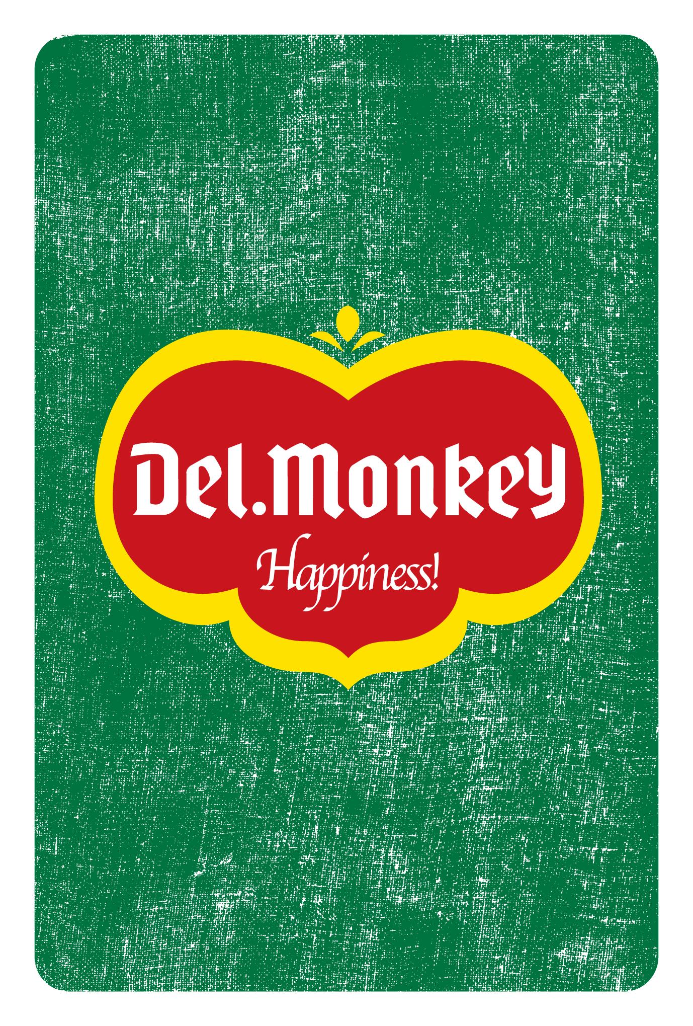 2016年賀状11-1:Del.Monkey / modify 1のダウンロード画像