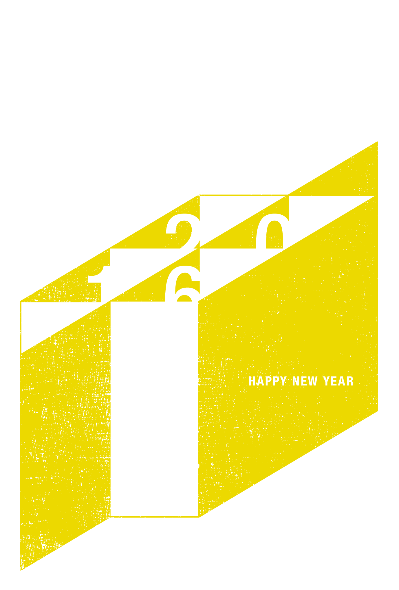 2016年賀状21-3:申の図案(黄)のダウンロード画像