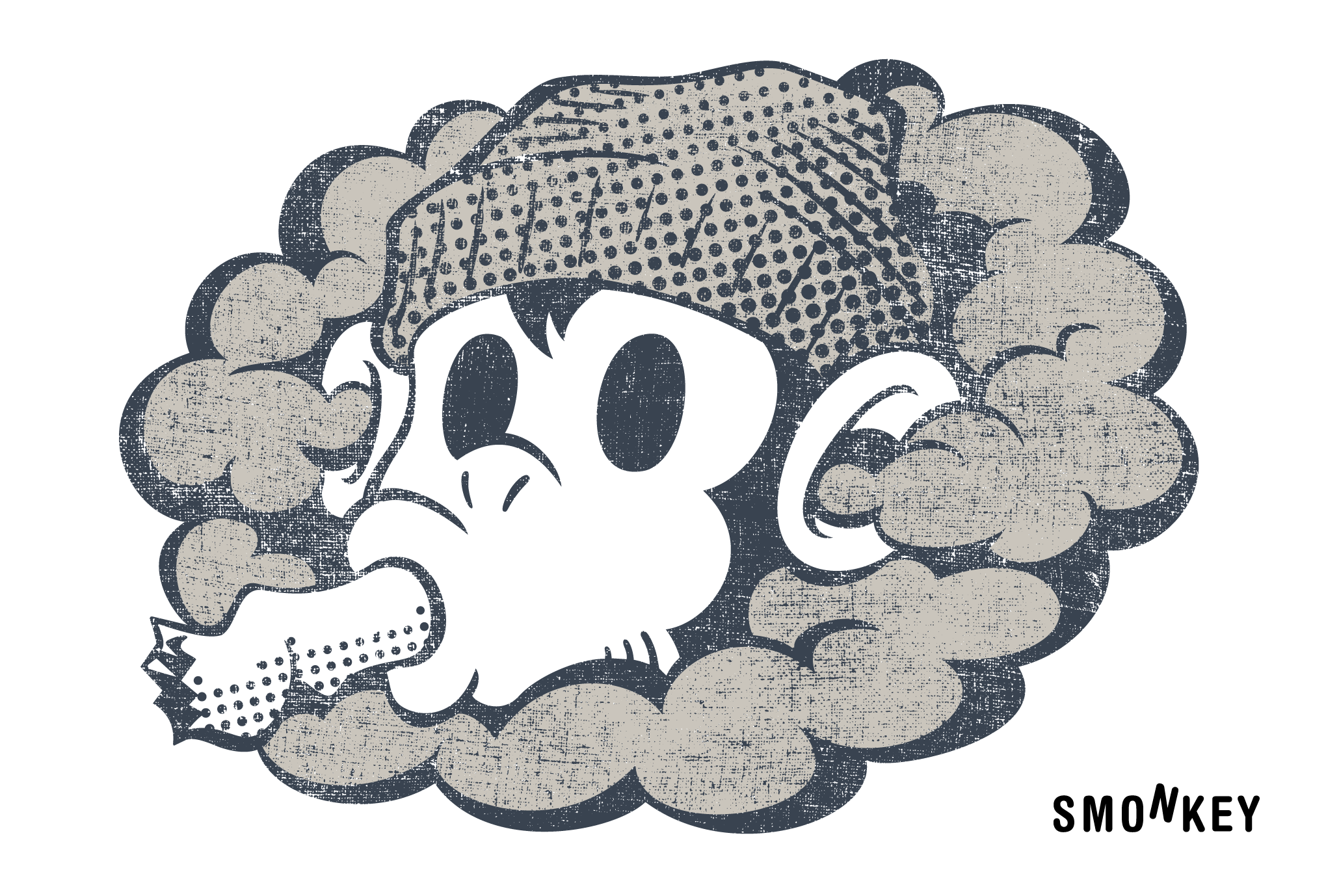 2016年賀状22-2:SMONKEY / stoneのダウンロード画像