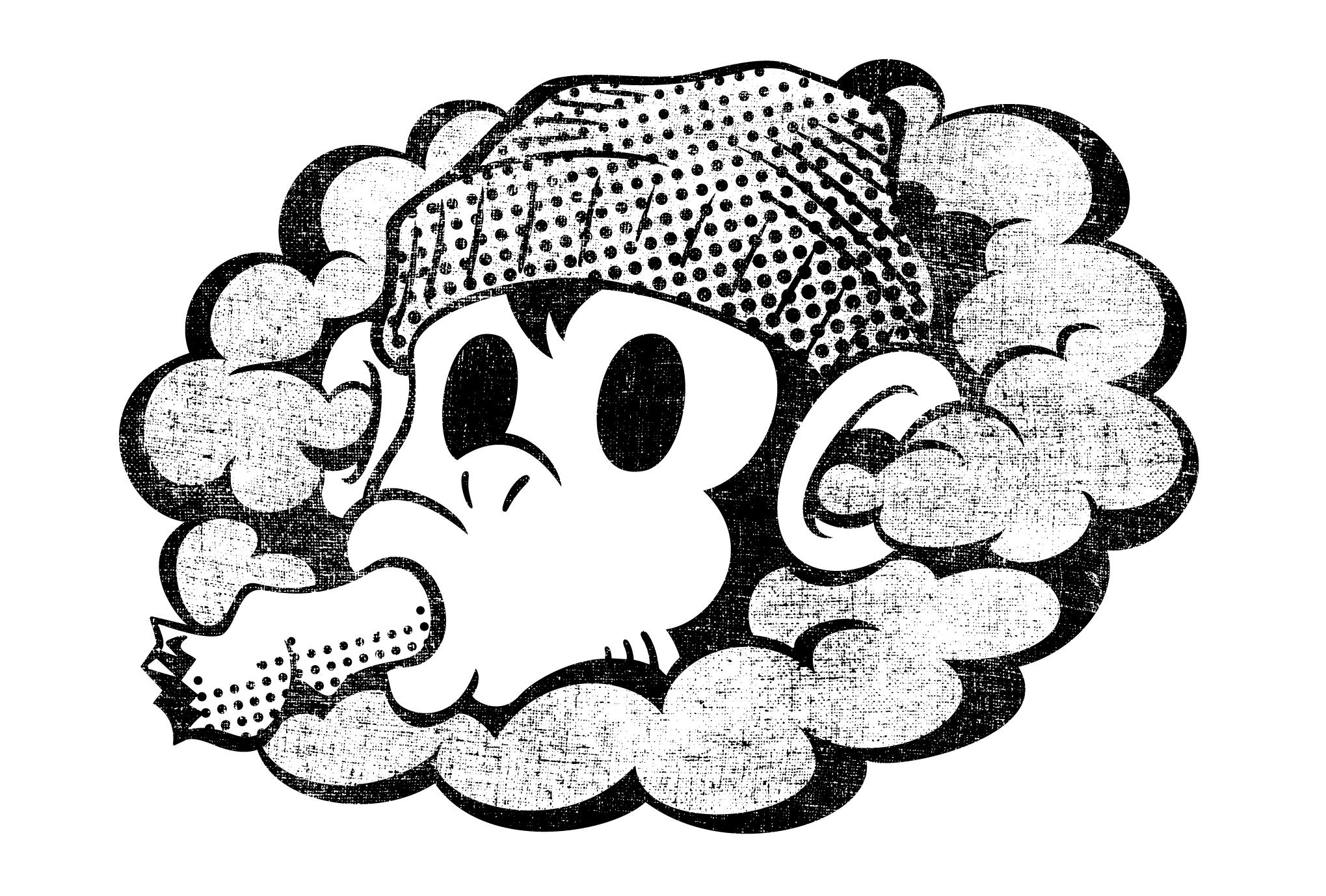 2016年賀状22-4:SMONKEY / blackのダウンロード画像