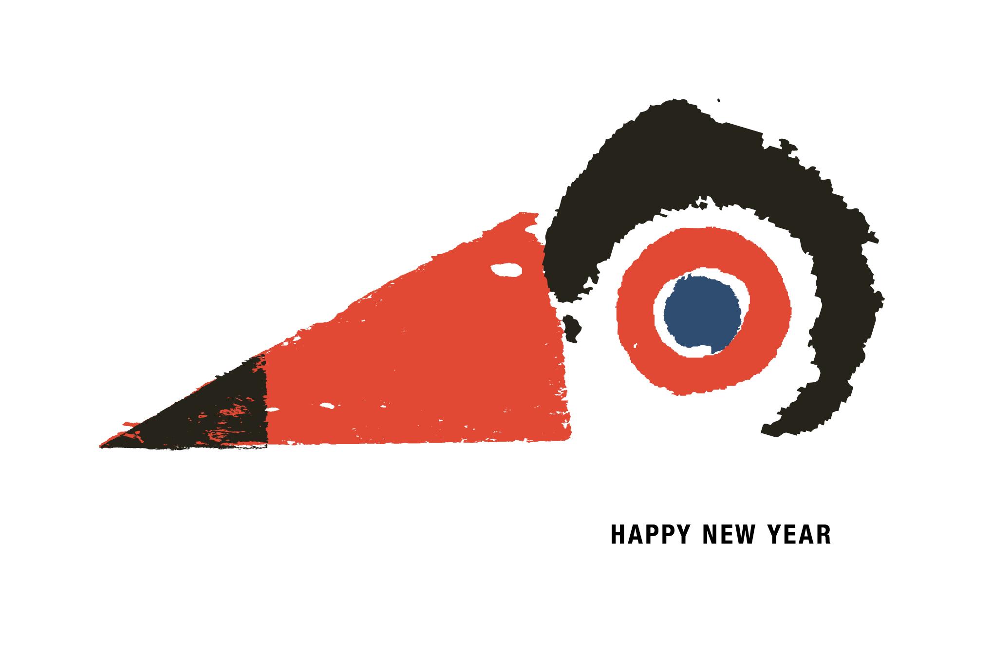 2017年賀状18-3:Beak / redのダウンロード画像