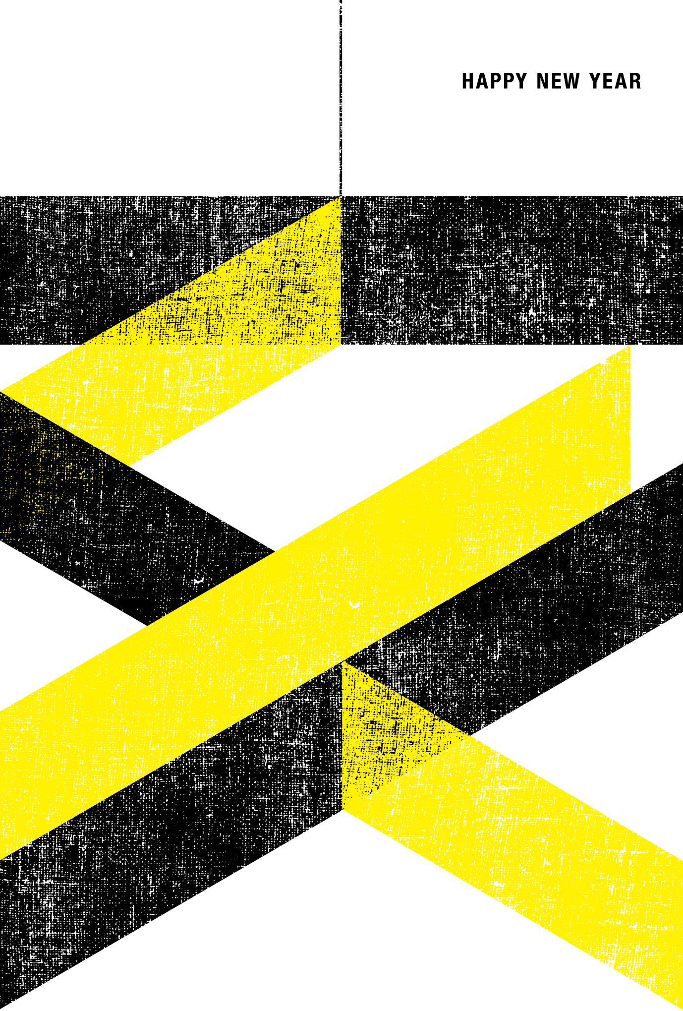 2019年賀状14-3:亥 K100 Y100のダウンロード画像