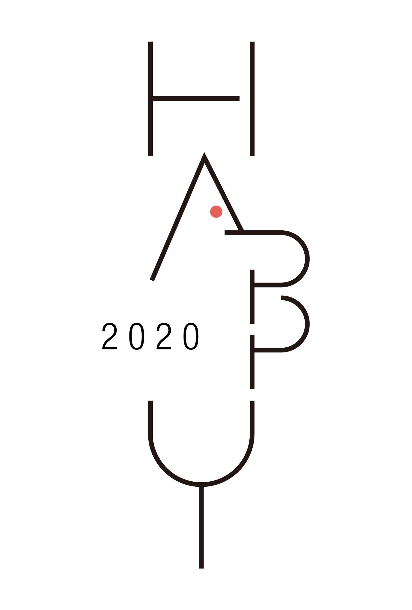 2020年賀状15-1:HAPPY MOUSE / Bのダウンロード画像