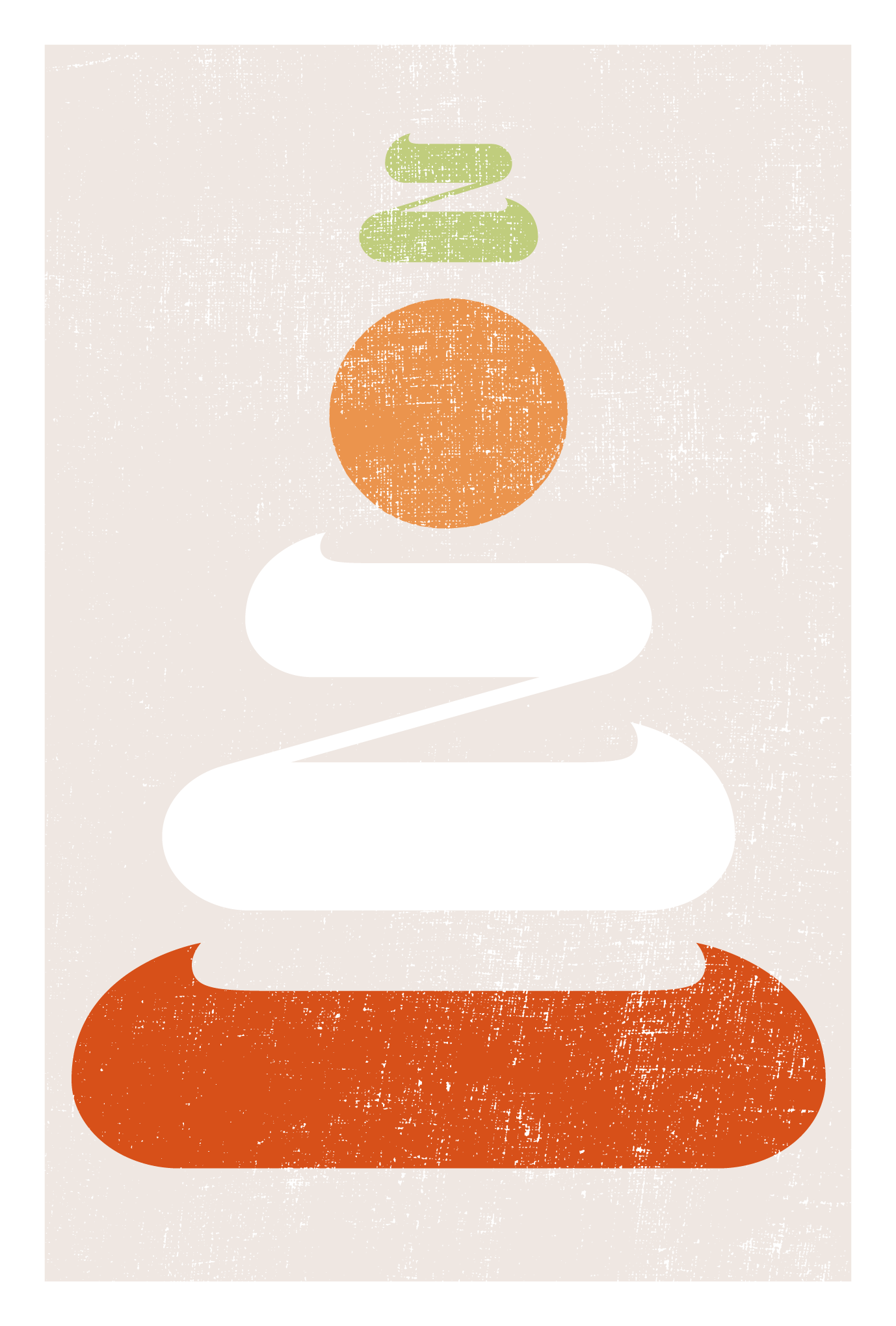 2021年賀状22-1:鏡餅二〇二一 / 縦 Aのダウンロード画像
