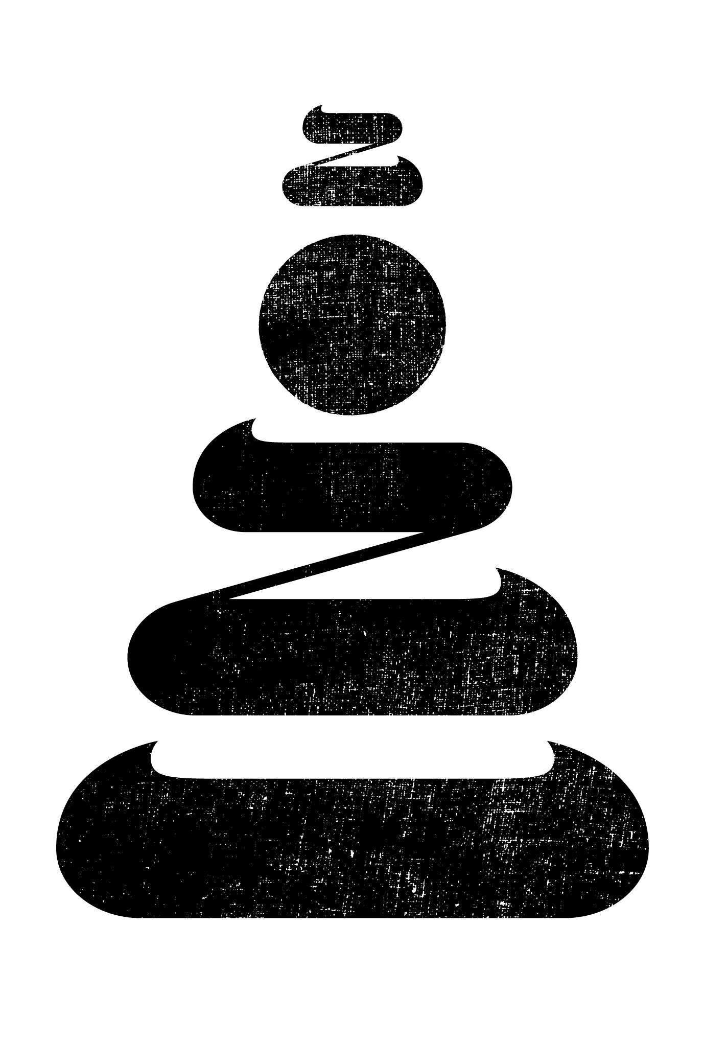 2021年賀状22-2:鏡餅二〇二一 / 縦 Bのダウンロード画像