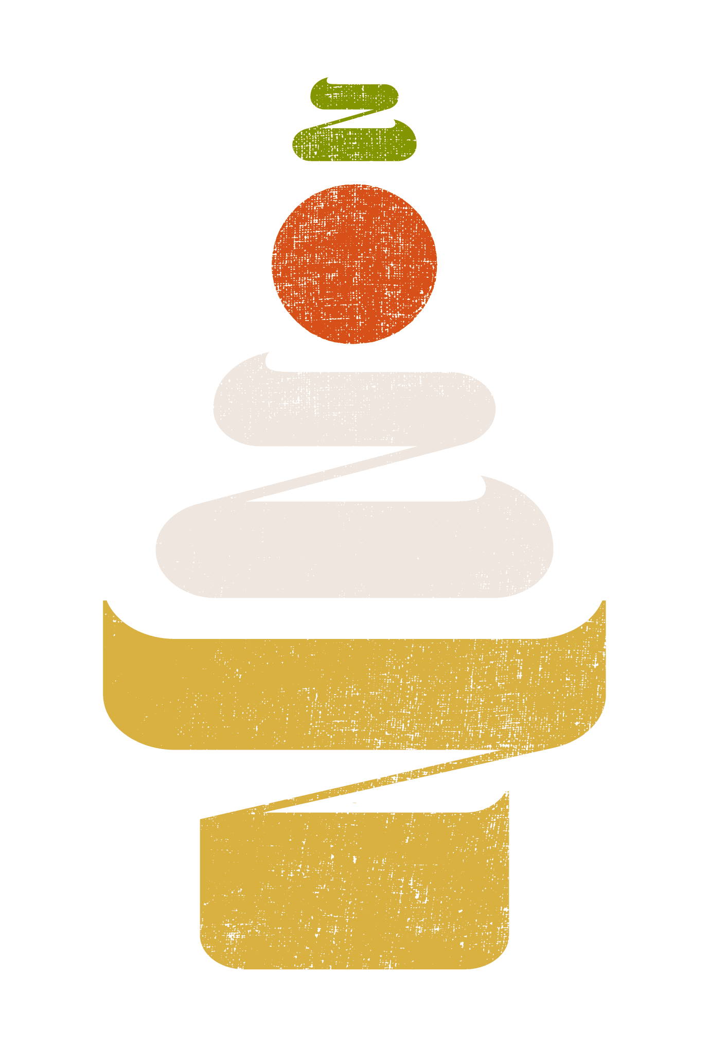 2022年賀状22-2:鏡餅 二〇二二(縦)Bのダウンロード画像