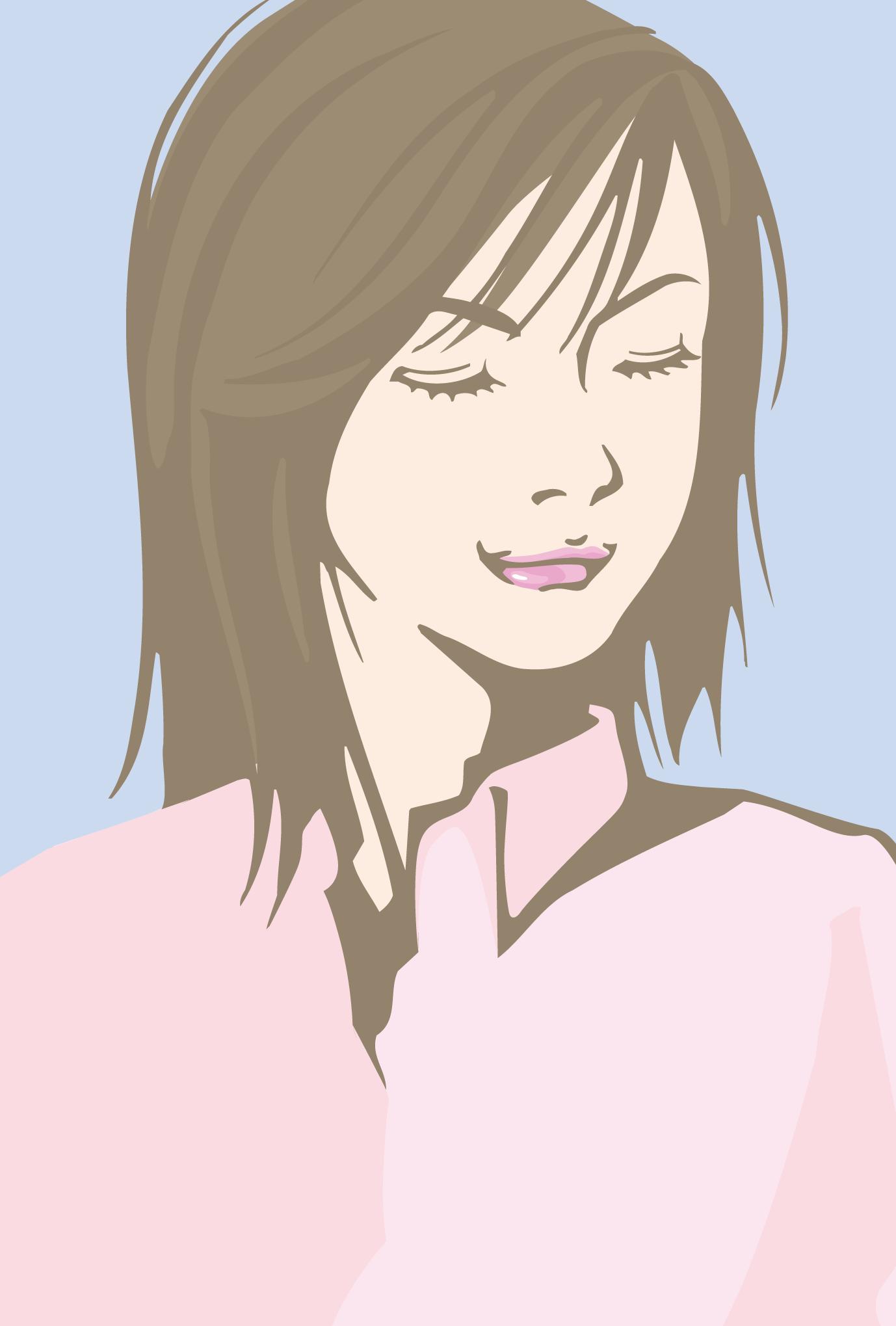 ポストカード11:Girl 3のダウンロード画像