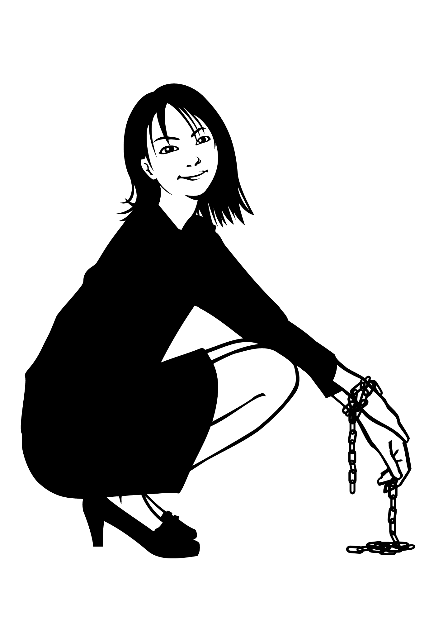 ポストカード12:Girl 4のダウンロード画像