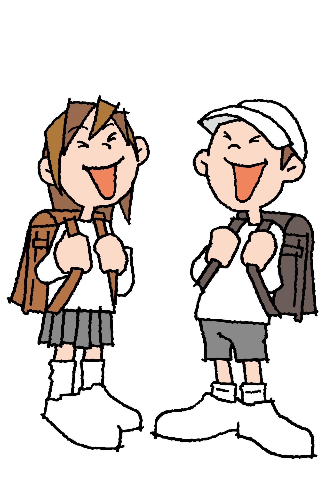 ポストカード16:小学生のダウンロード画像