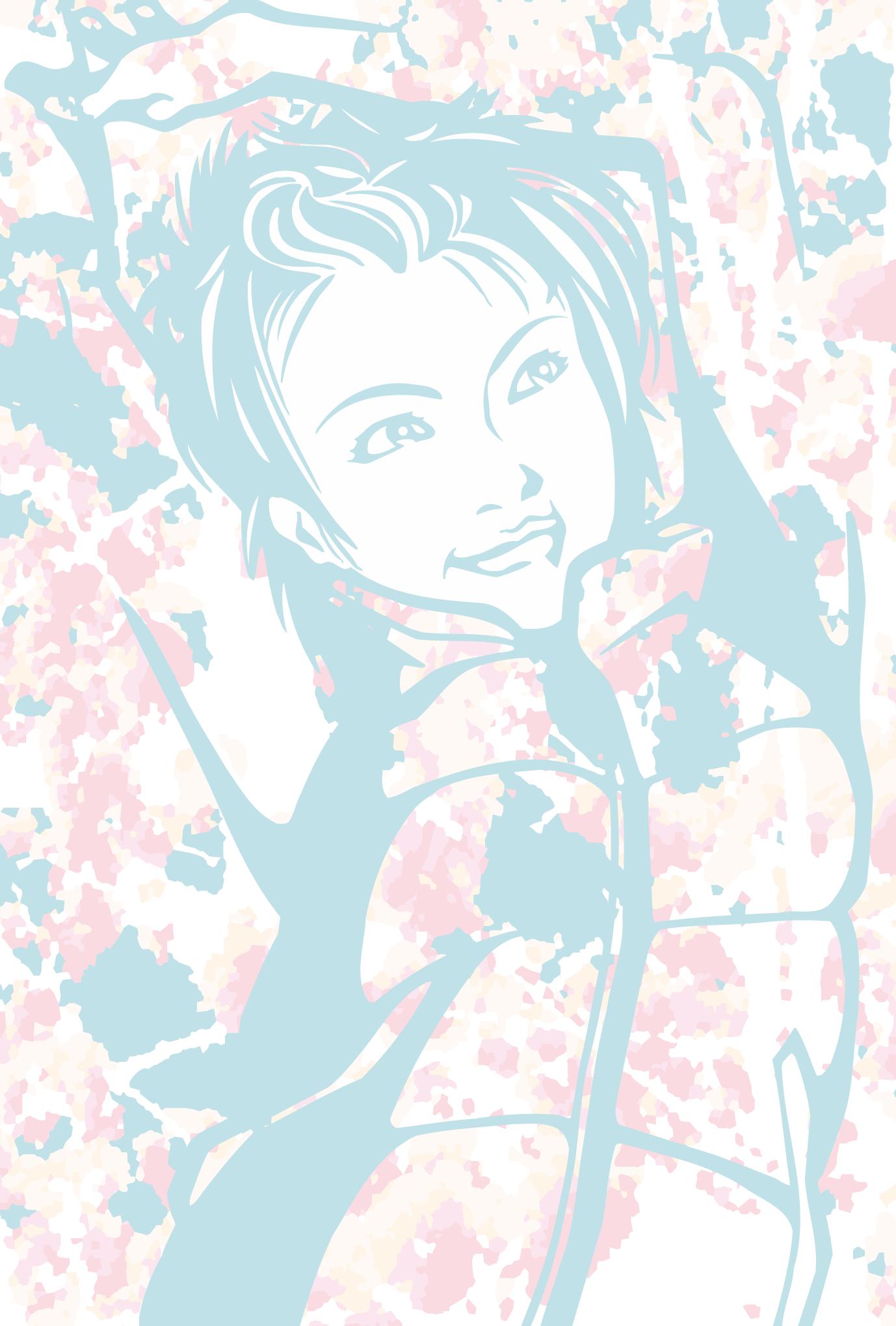ポストカード18:Girl 6のダウンロード画像