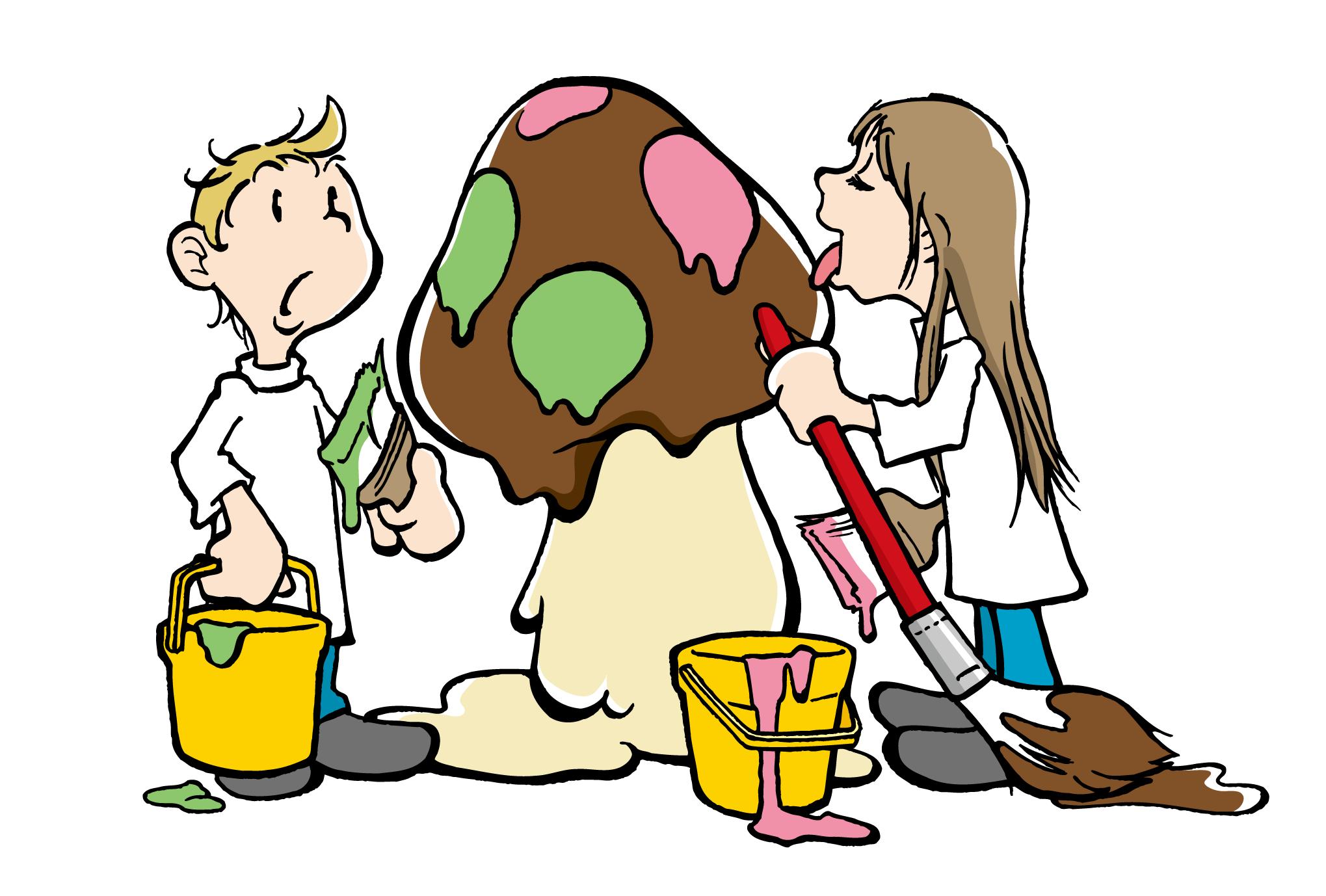 ポストカード24:Chocolate mushroomのダウンロード画像