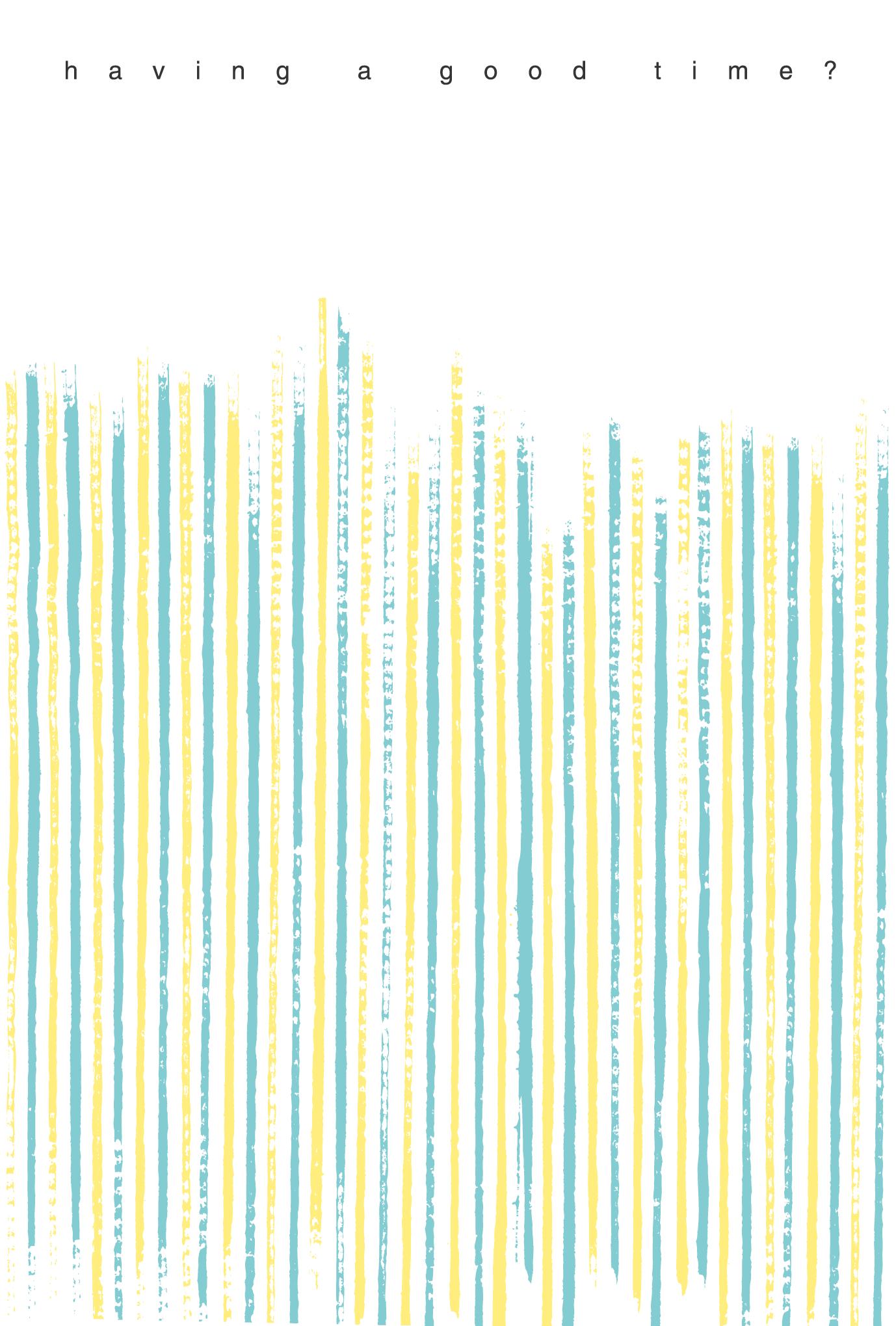 サマーカード18:Summer stripesのダウンロード画像