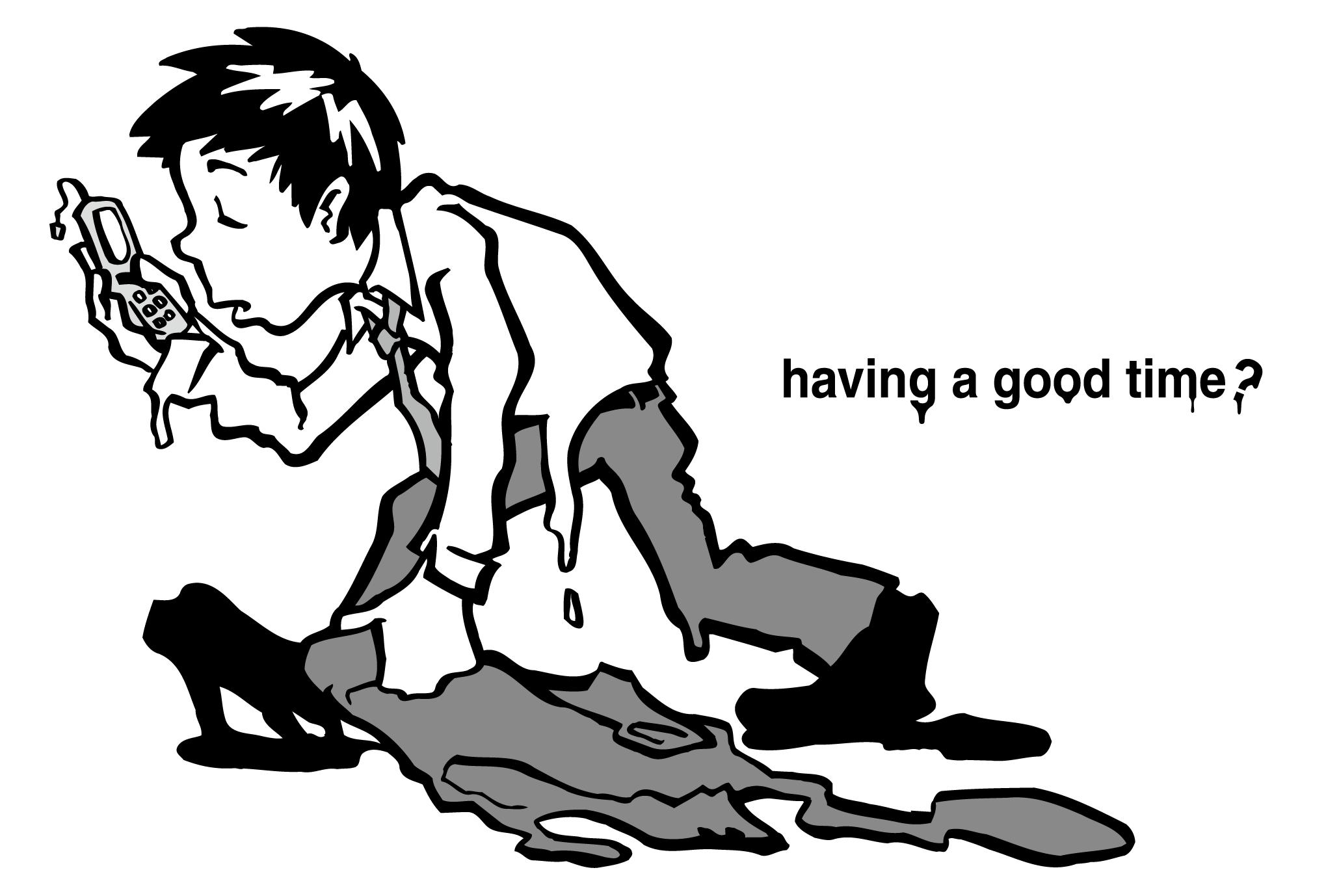 サマーカード25:働く男のダウンロード画像
