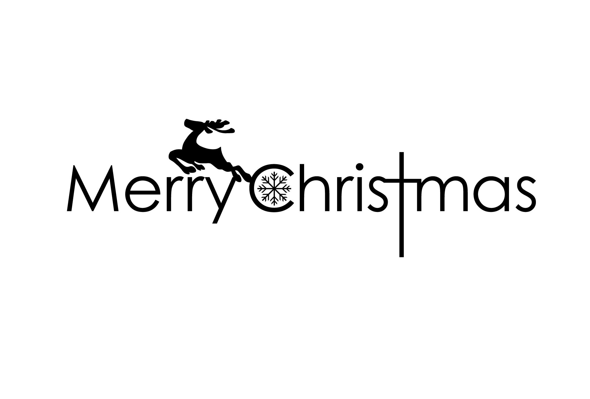 クリスマスカード11:Merry Christmasのダウンロード画像