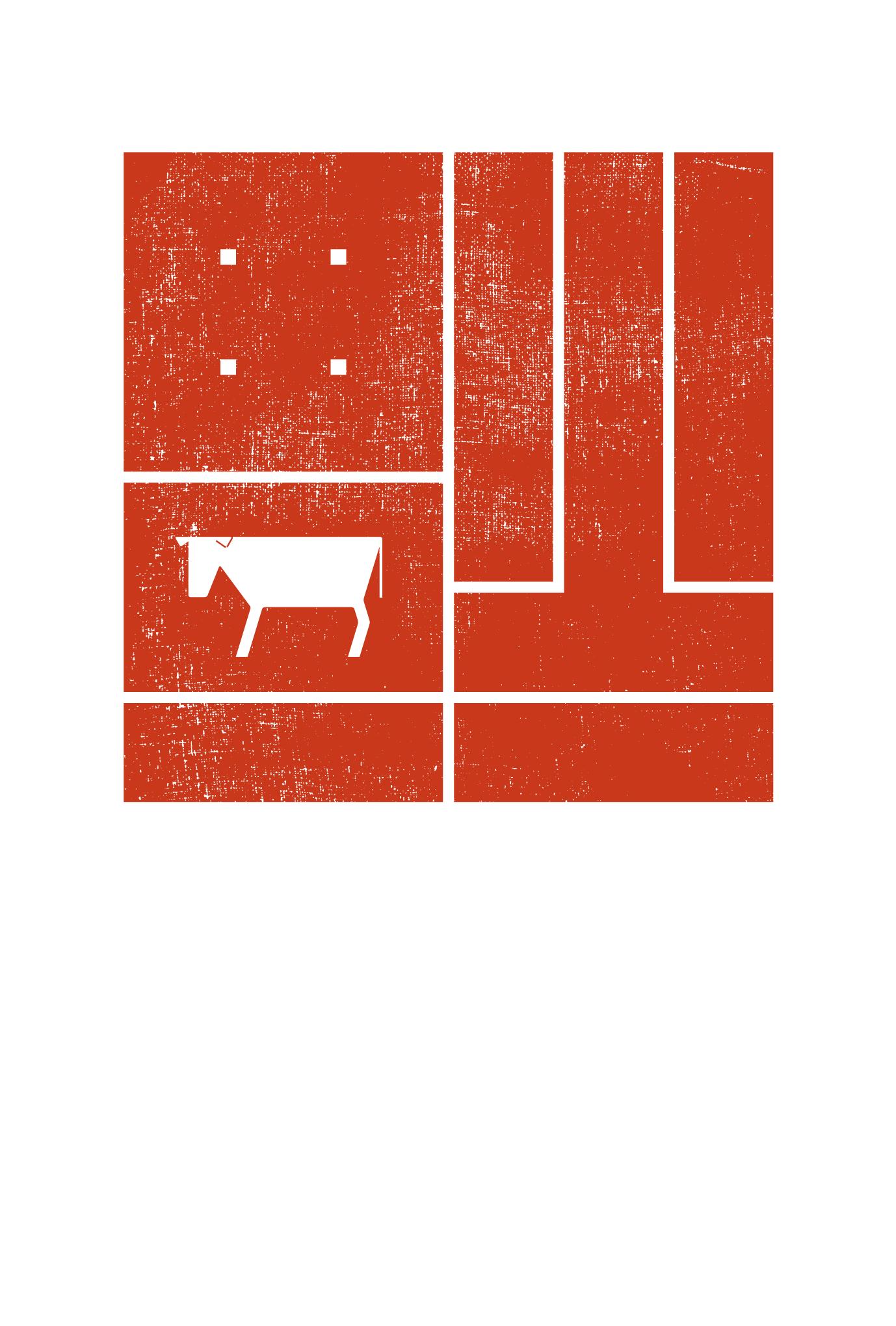 2021春節01-2:倒福(赤)のダウンロード画像